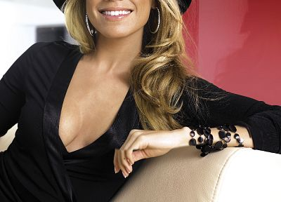 women, Sylvie van der Vaart - random desktop wallpaper