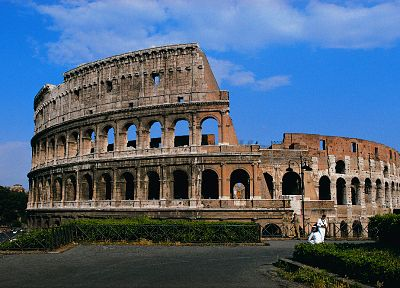 Rome, Italy, Colosseum - random desktop wallpaper