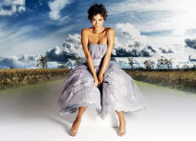 women, black people, Halle Berry - related desktop wallpaper