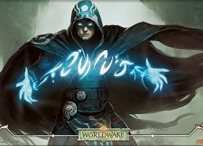 Magic: The Gathering, Jace Beleren, Planeswalker, Jason Chan - random desktop wallpaper