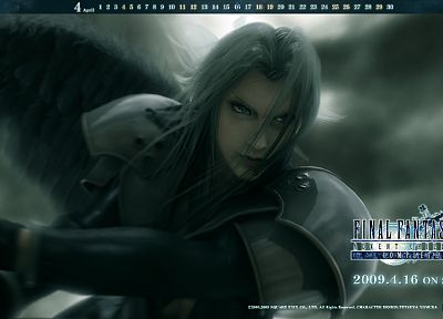 Final Fantasy, Final Fantasy VII Advent Children, Sephiroth - random desktop wallpaper