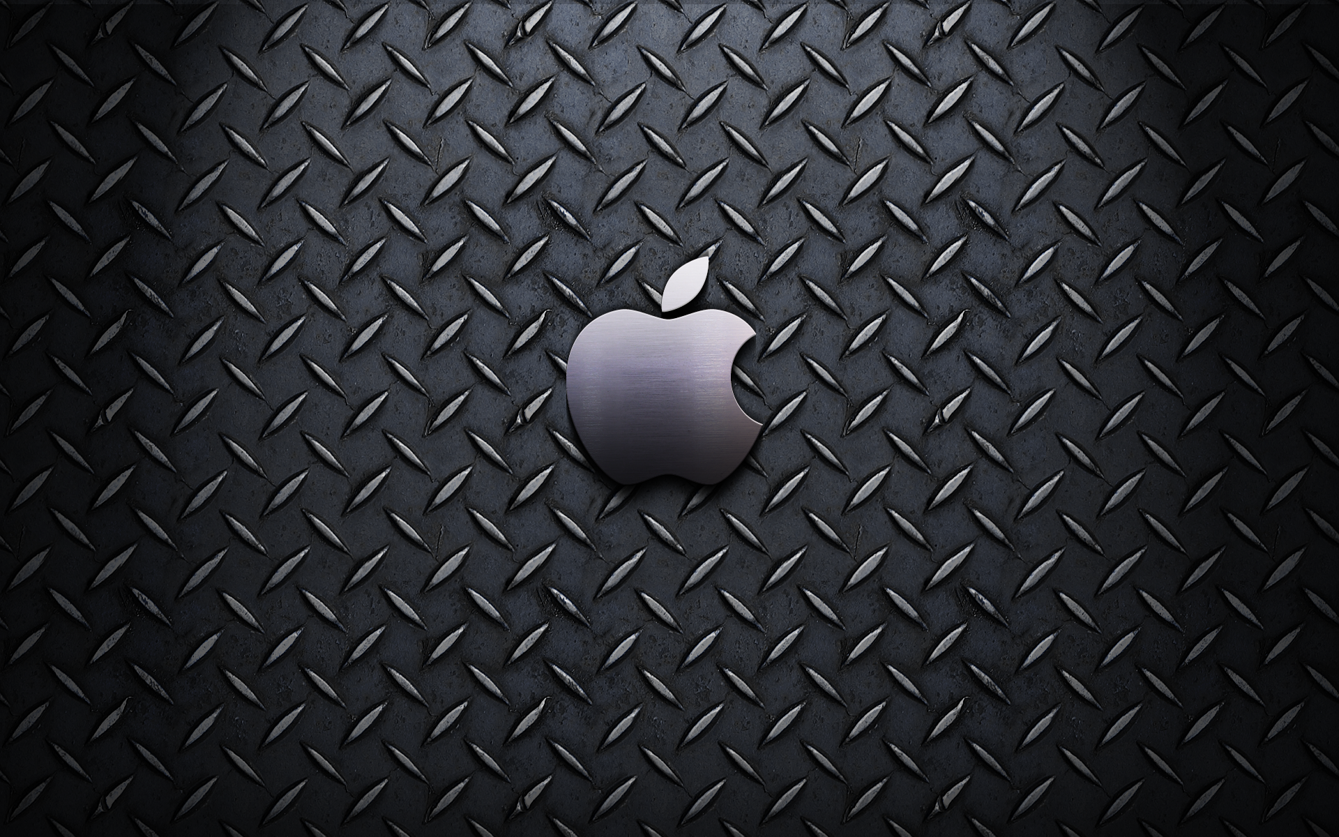 Apple Inc., Mac, steel, textures, logos - desktop wallpaper
