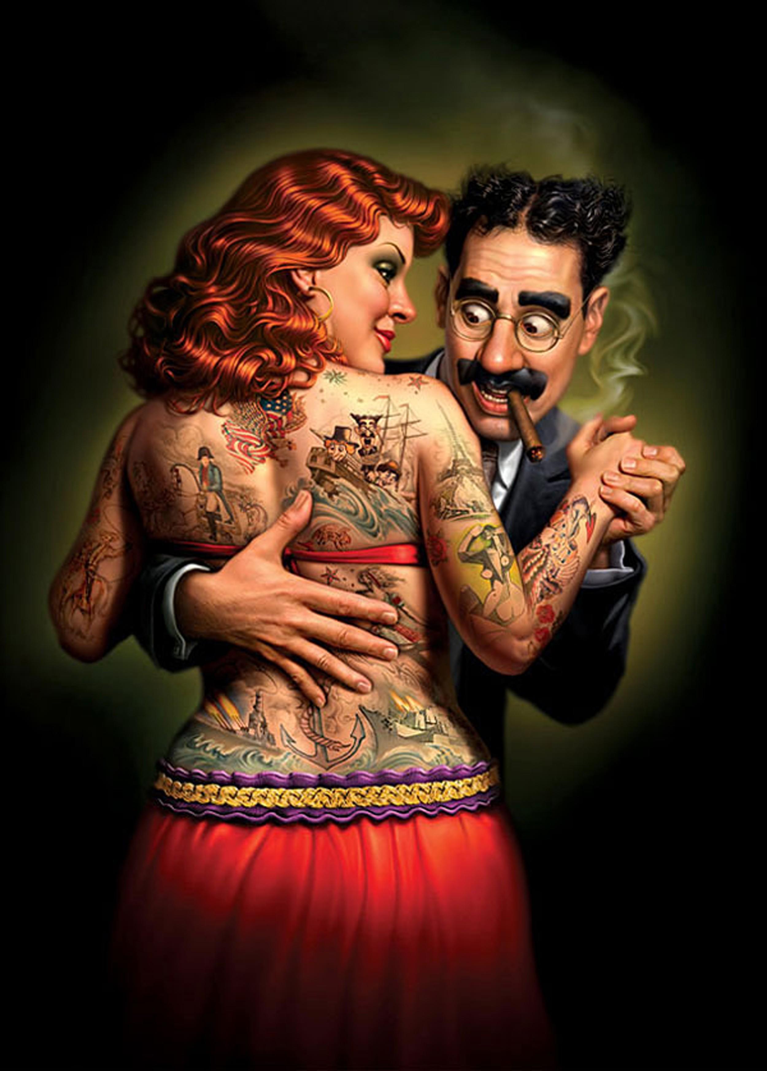 Смешные, татуировка картинки прикольные