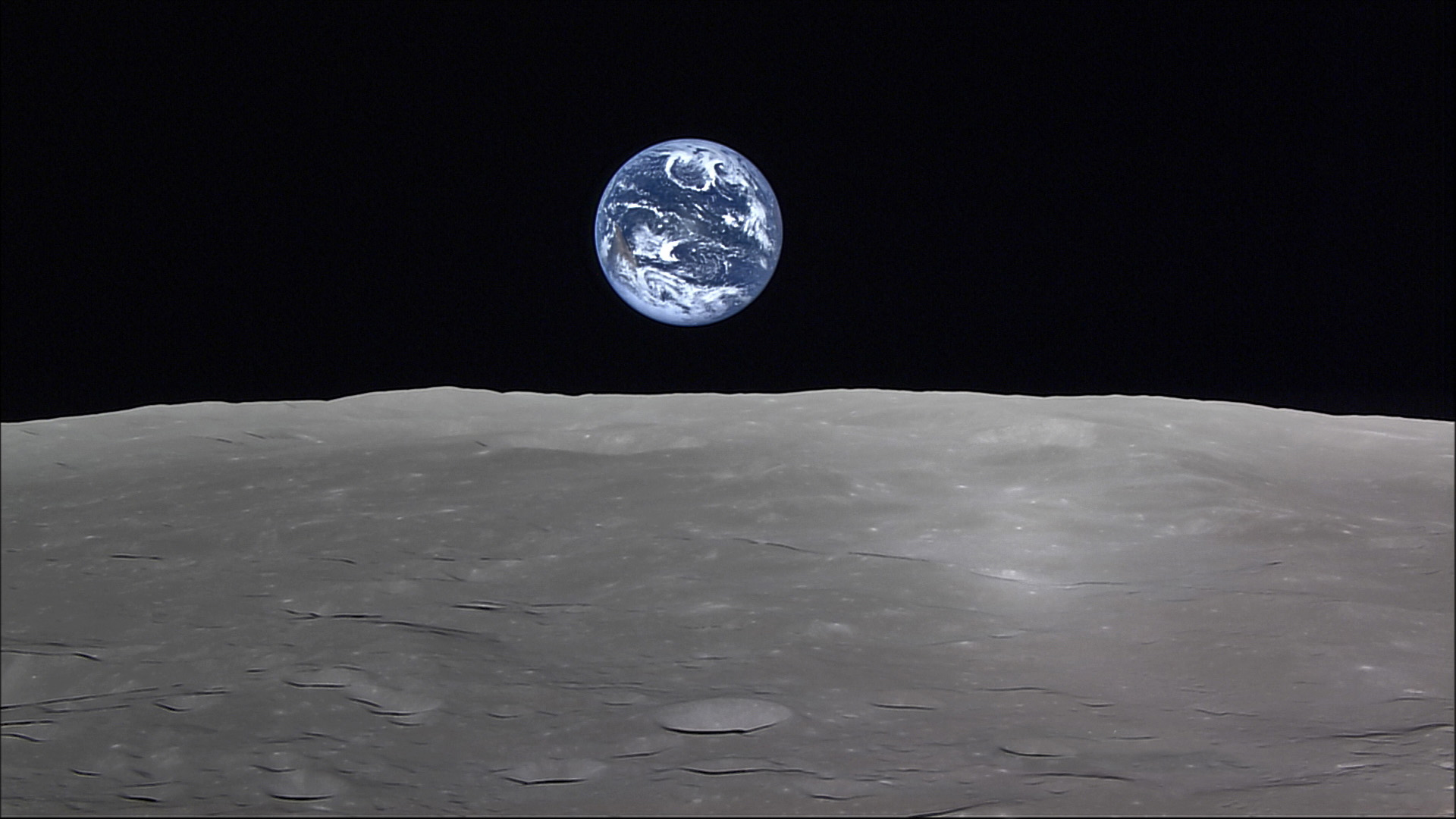 earth from the moon - HD1920×1080