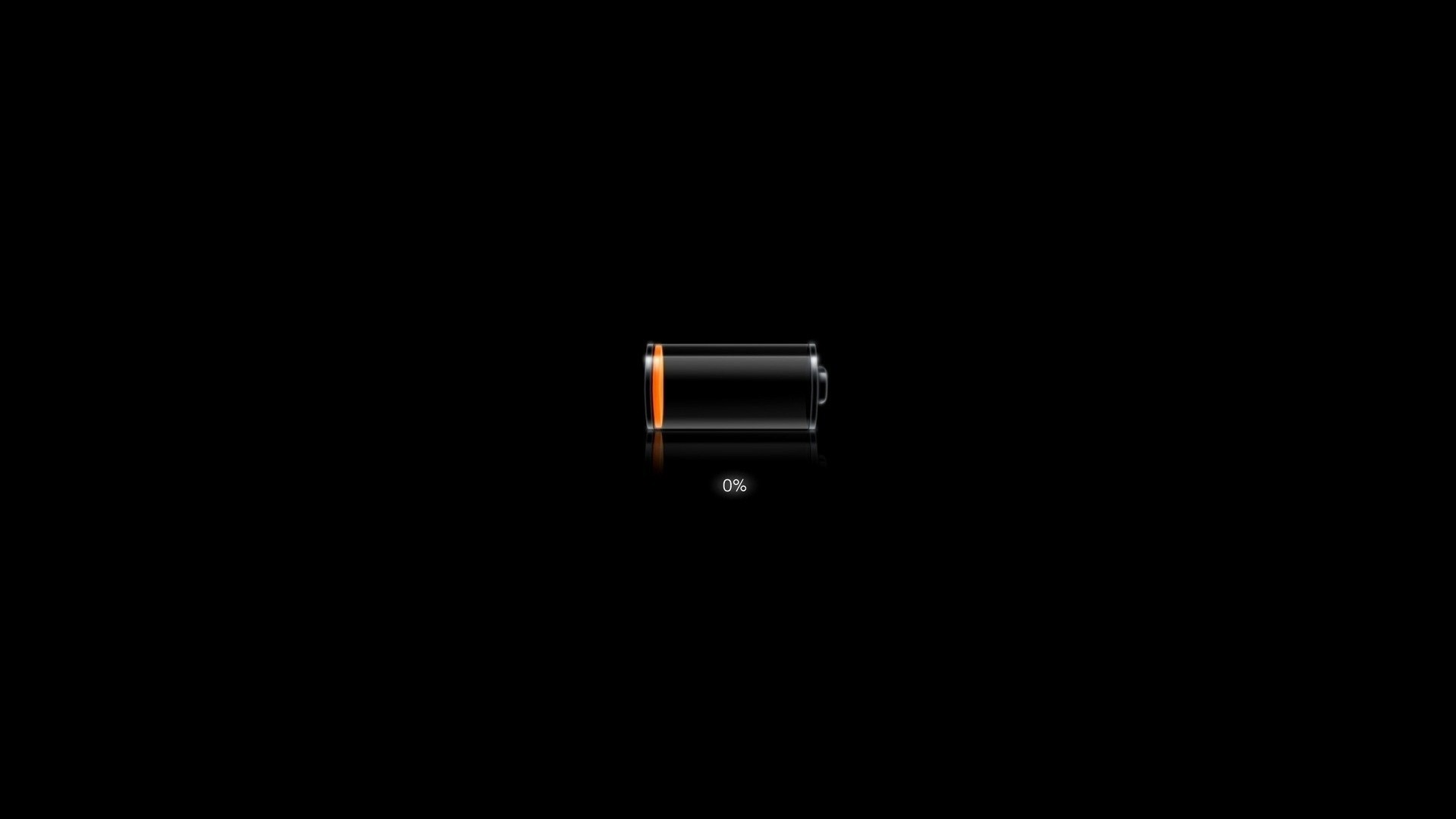 Dark Battery Charging
