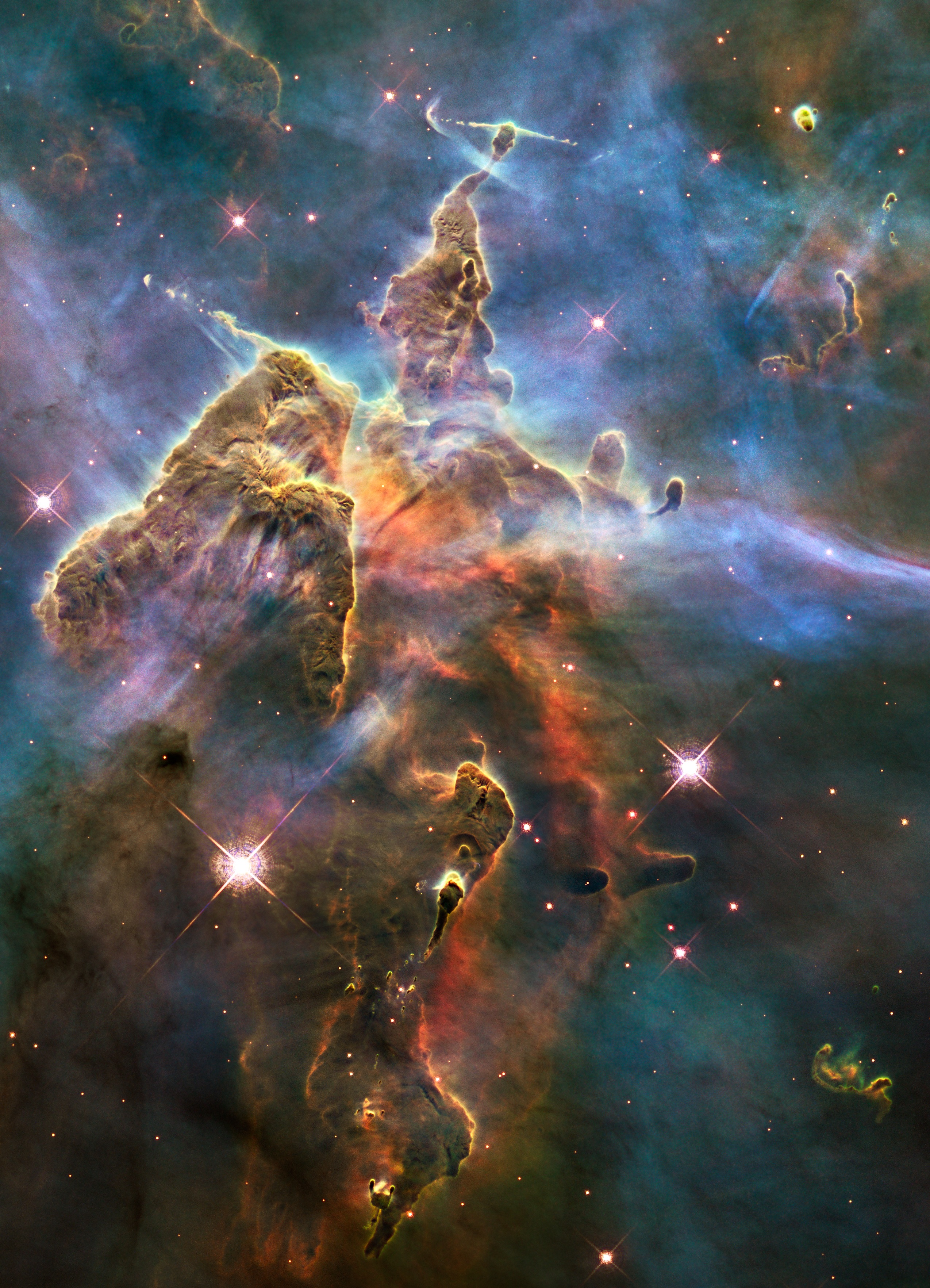 Outer Space Nebulae