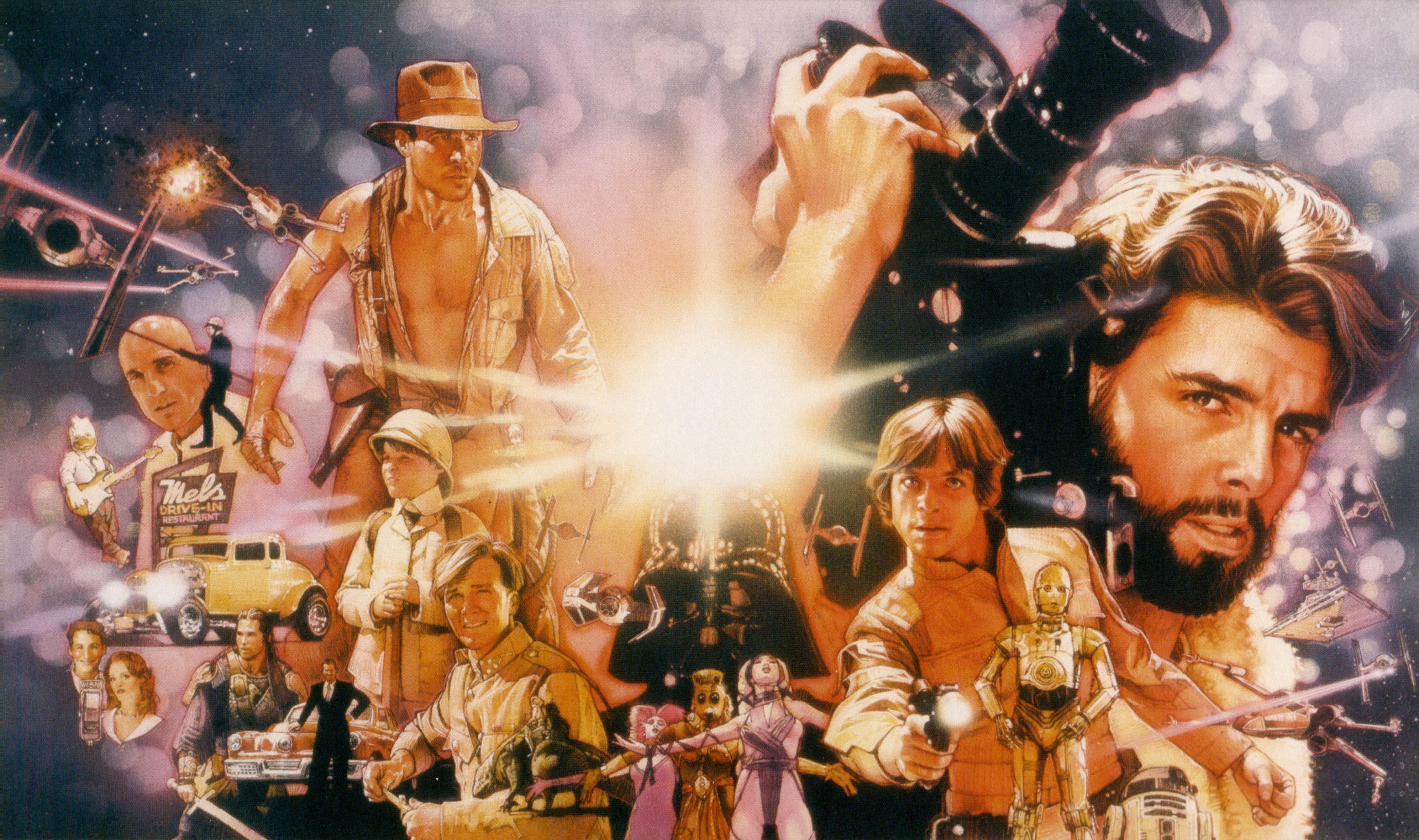 Star Wars THX 1138 Indiana Jones Darth Vader Luke Skywalker