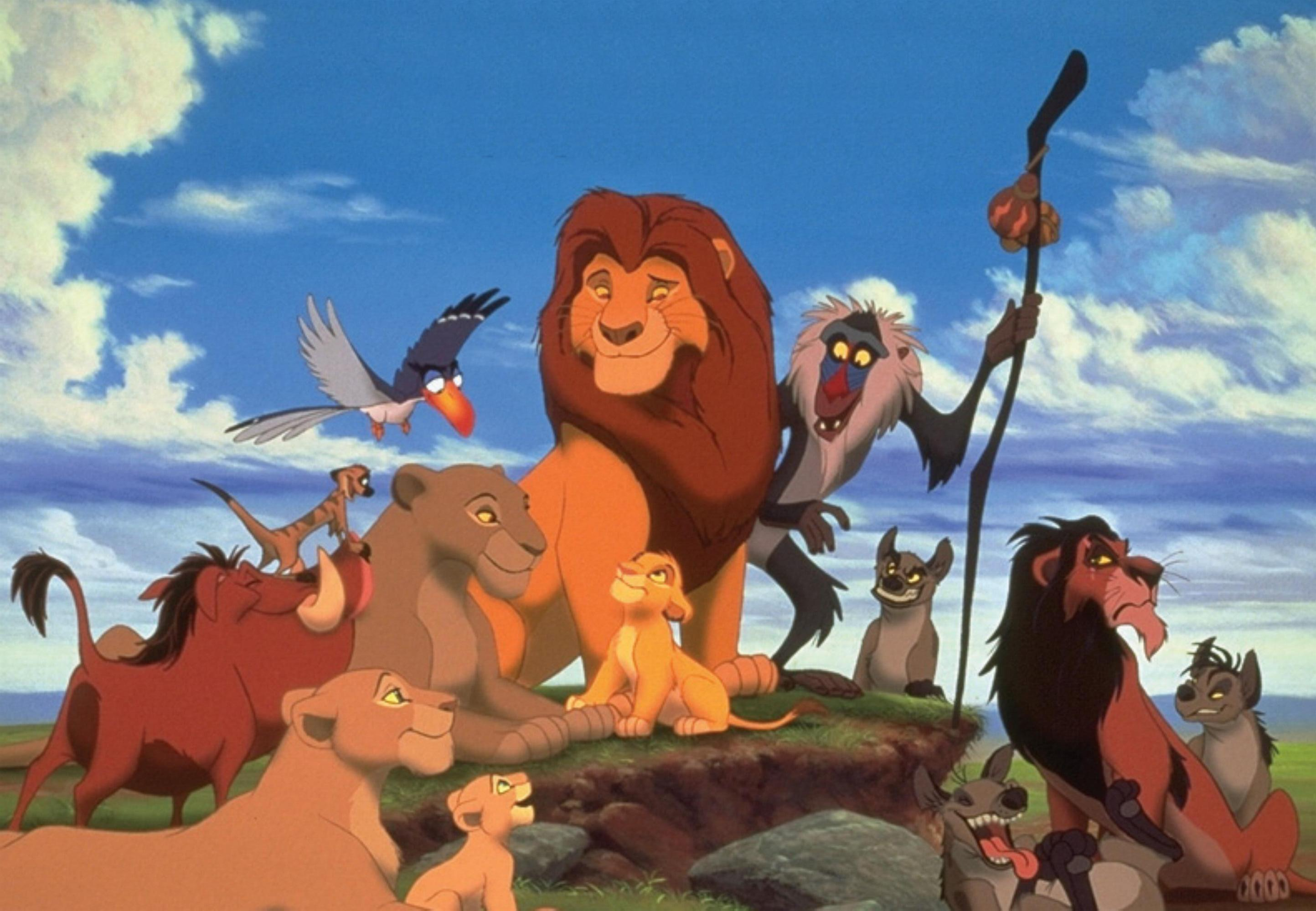 Simba The Lion King Hyenas Mufasa Nala Timon Pumba
