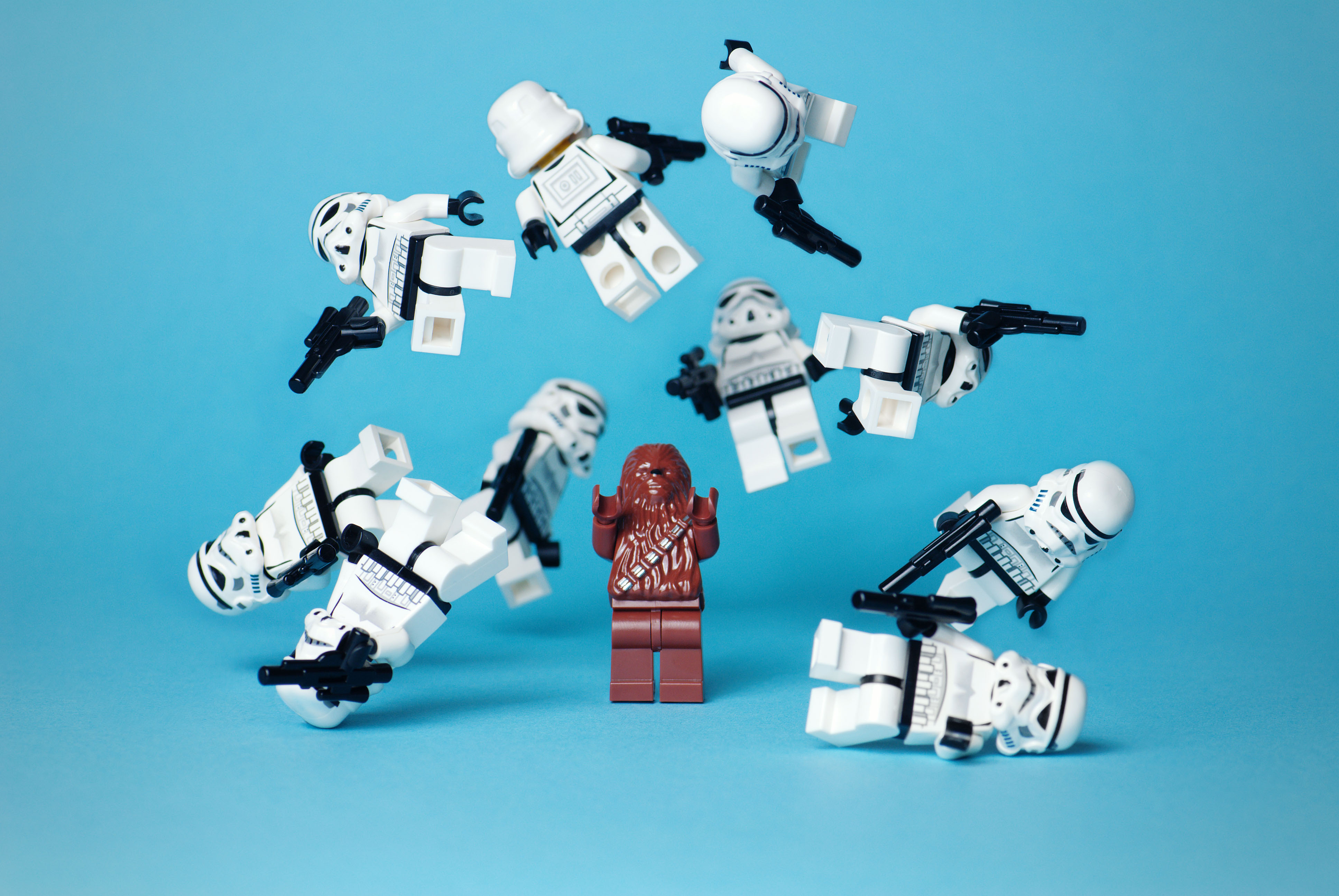 Star Wars Stormtroopers Chewbacca Legos Free Wallpaper Images, Photos, Reviews