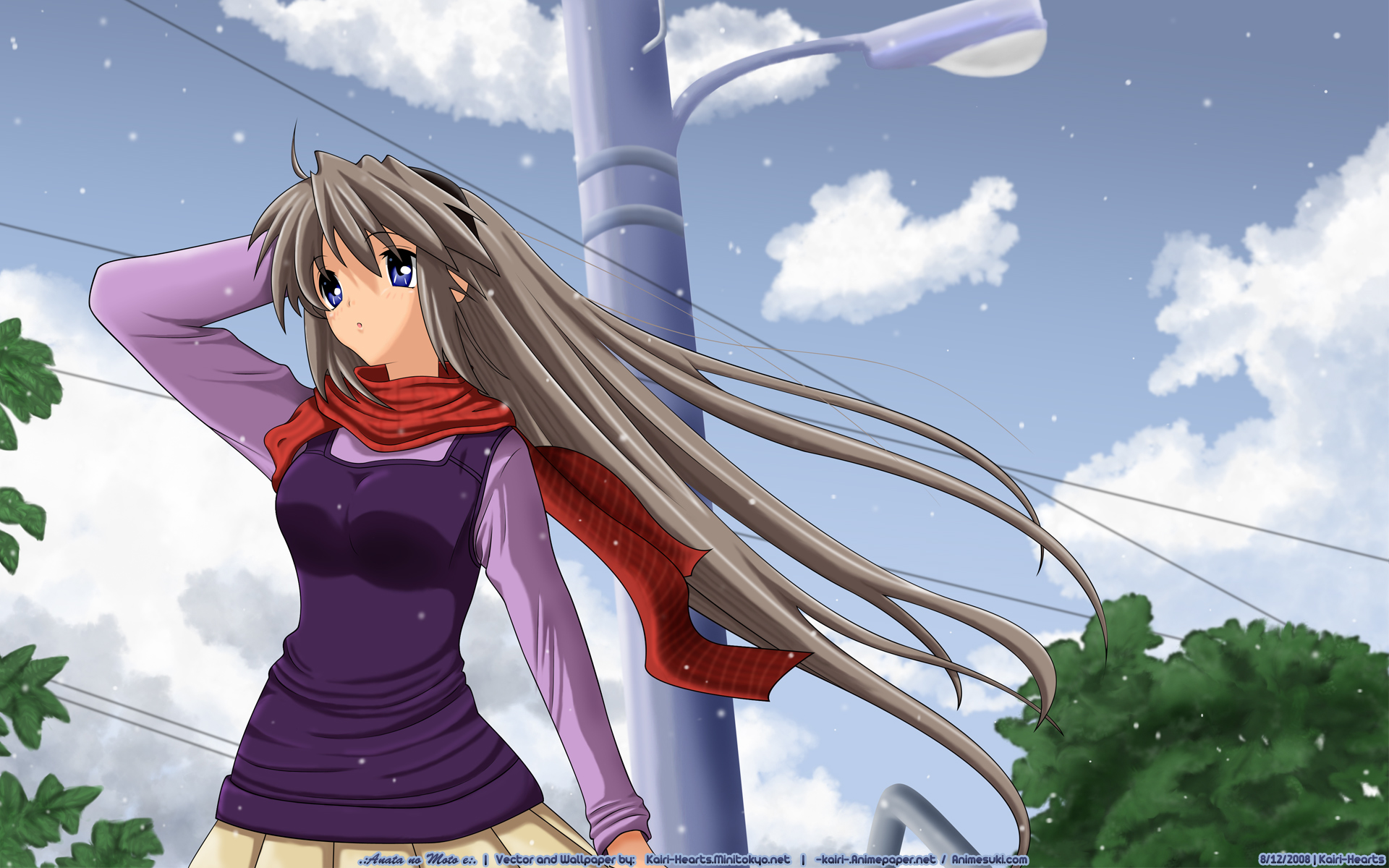 Clannad Sakagami Tomoyo Clannad After Story Free Wallpaper