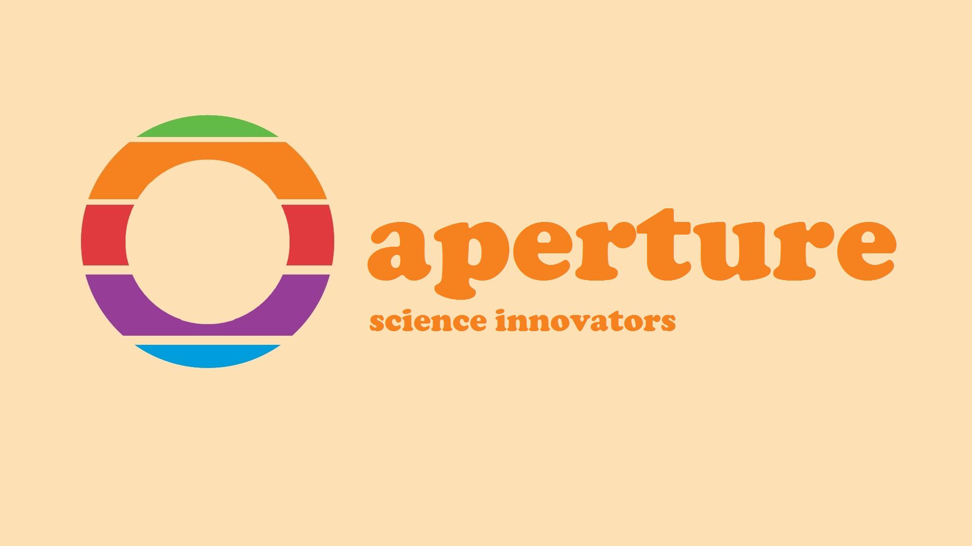 portal, retro, aperture laboratories, portal 2 - free wallpaper
