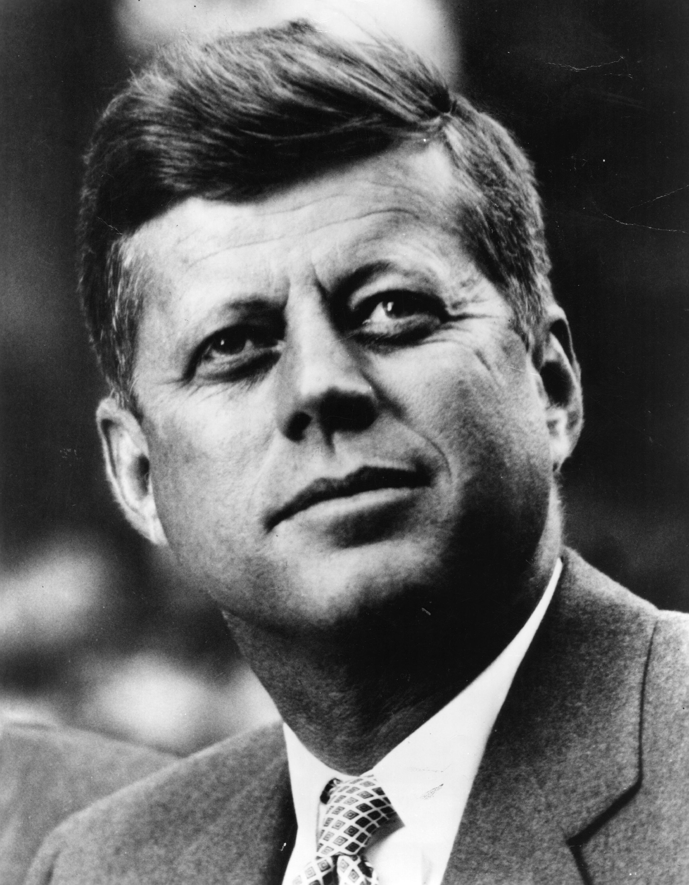 Presidents Grayscale John F Kennedy