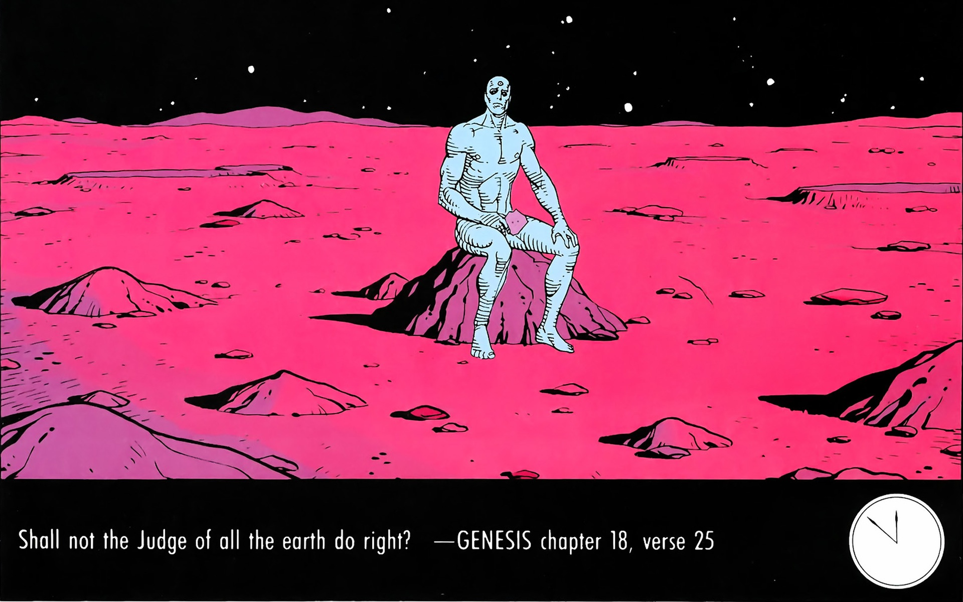watchmen, dr. manhattan - free wallpaper / wallpaperjam