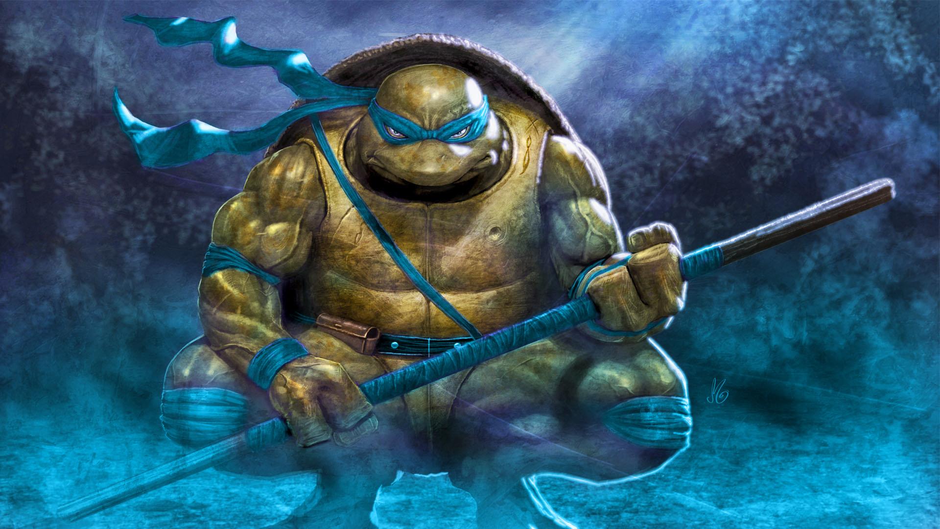 Teenage Mutant Ninja Turtles Leonardo Free Wallpaper