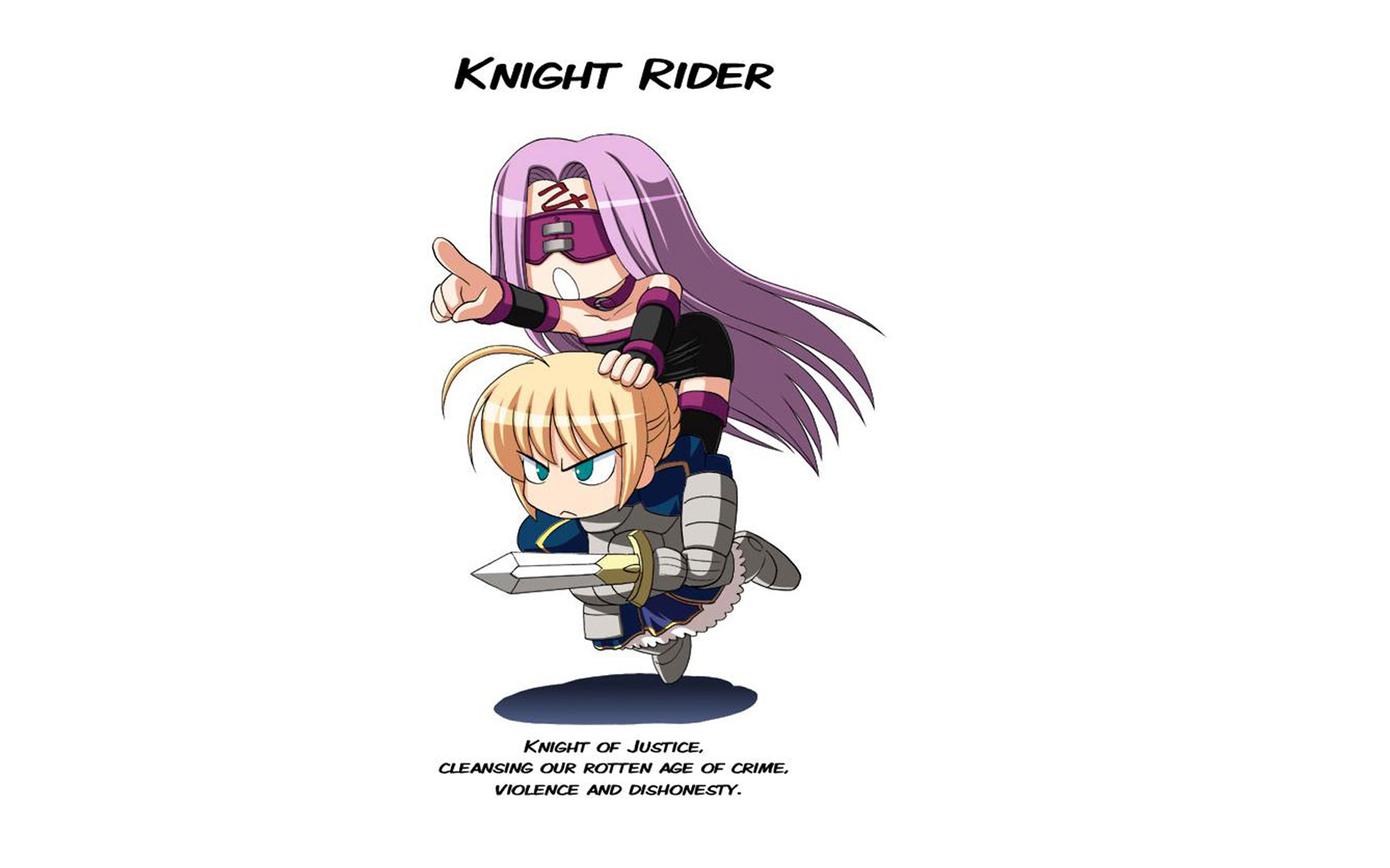 Fate Stay Night Saber Rider Fate Stay Night Fate Series