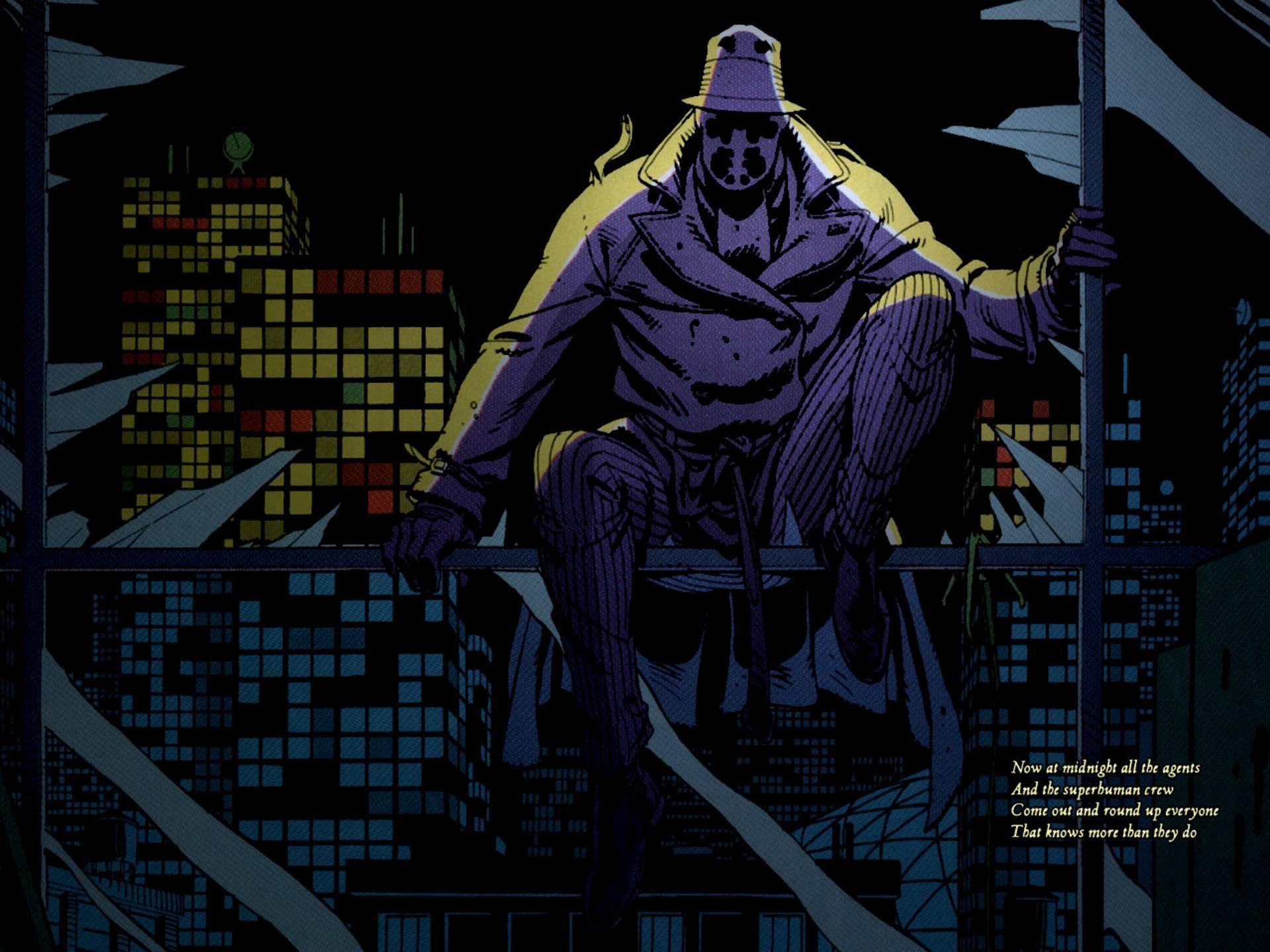 watchmen, comics, rorschach - free wallpaper / wallpaperjam