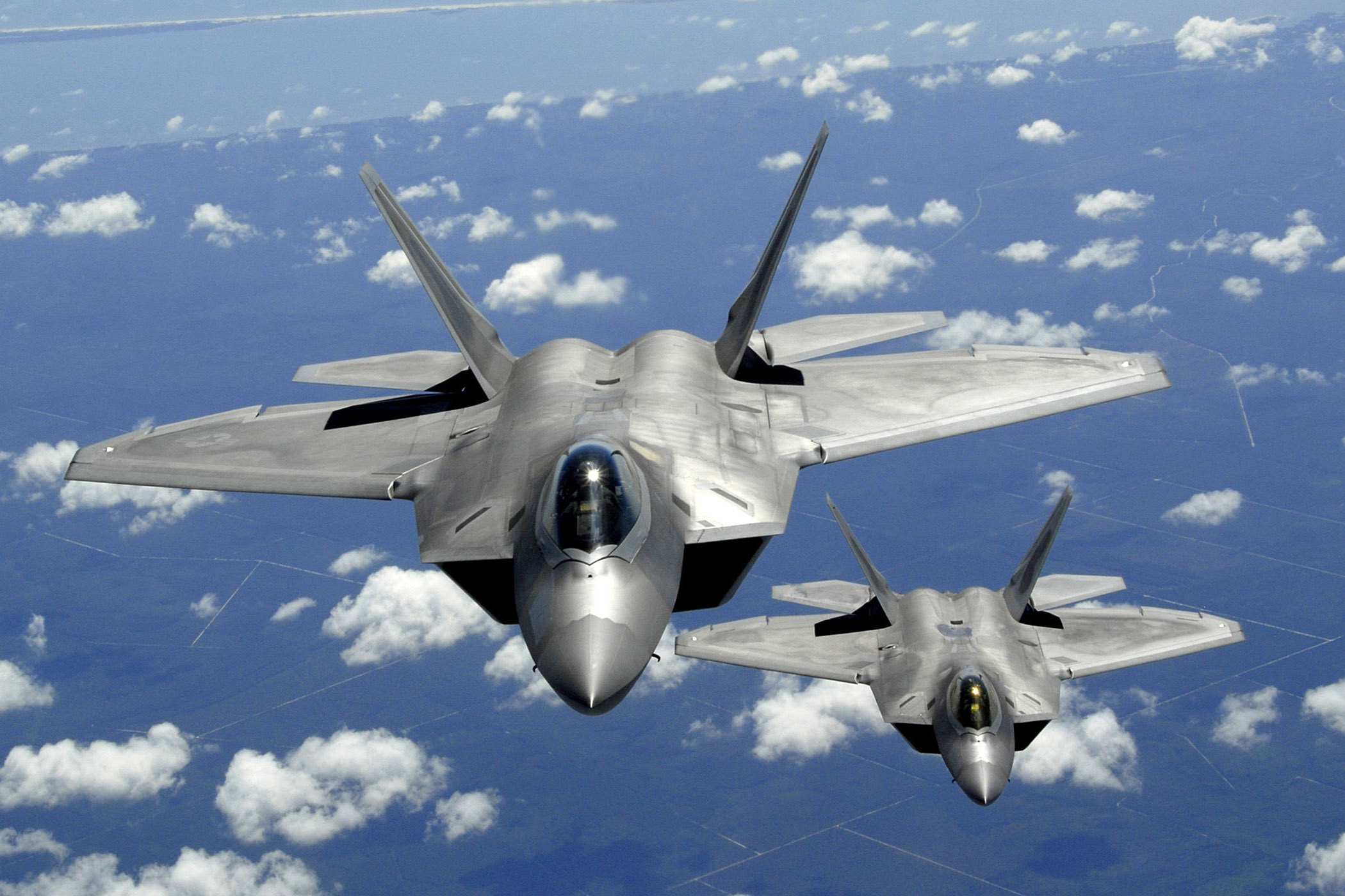 Aircraft Military F 22 Raptor Planes Vehicles Free Wallpaper