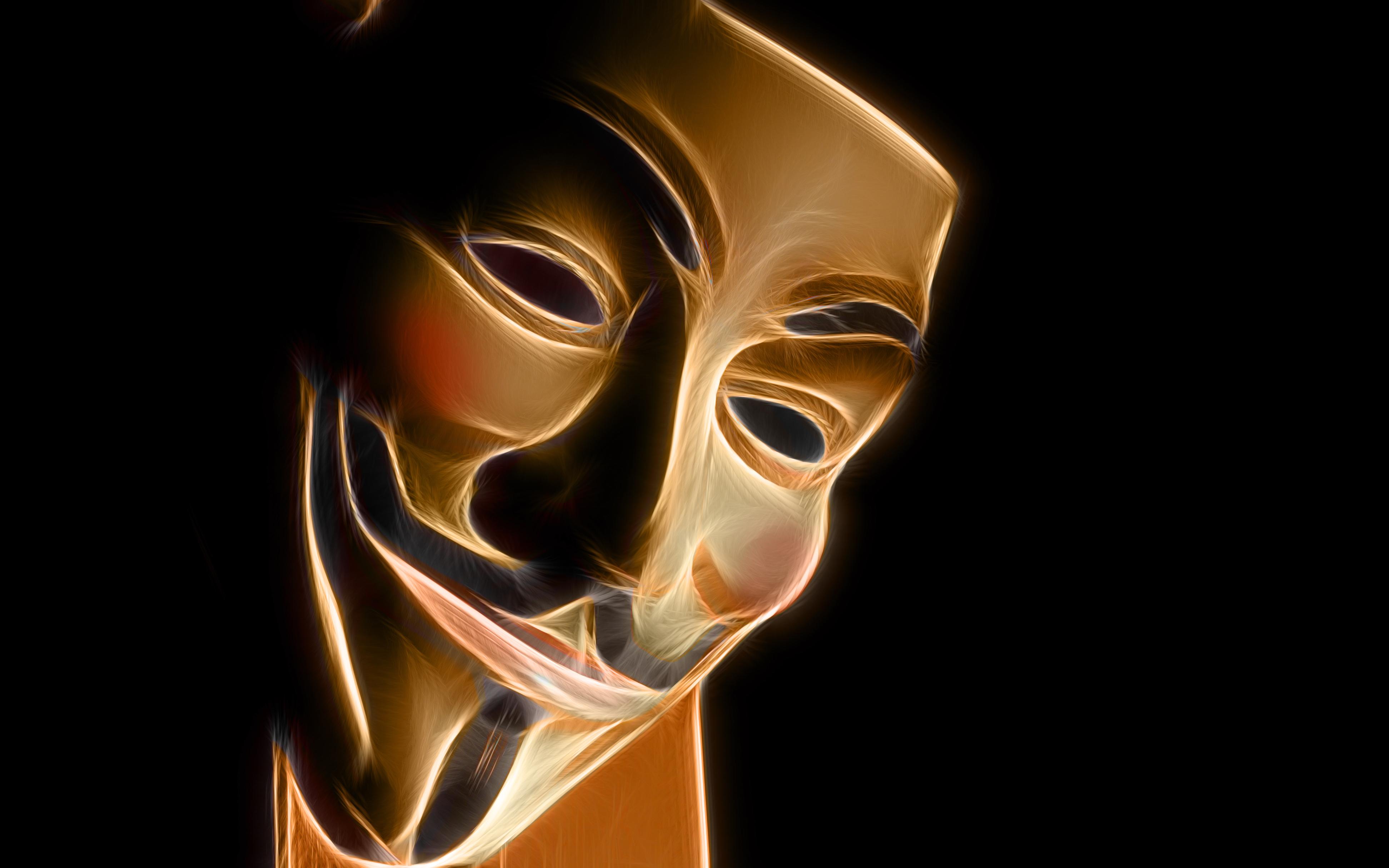 Fractalius Masks Guy Fawkes V For Vendetta