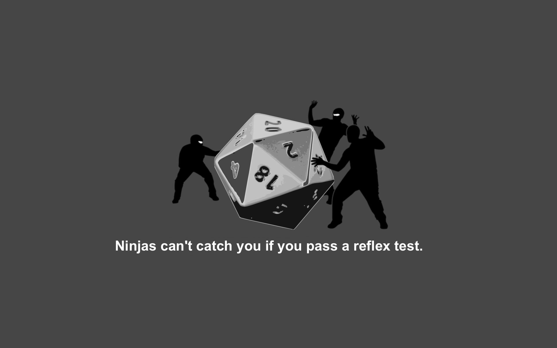 Ninjas Dice Ninjas Cant Catch You If Dungeons And Dragons