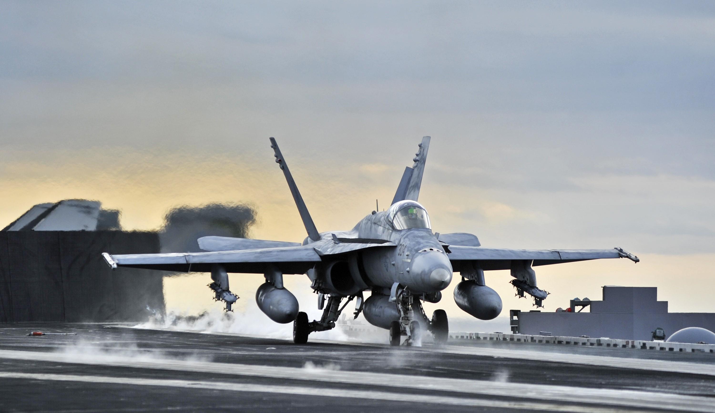 Carrier, Airplanes, Take Off, F 18 Hornet, Jet Aircraft   Free Wallpaper /  WallpaperJam.com