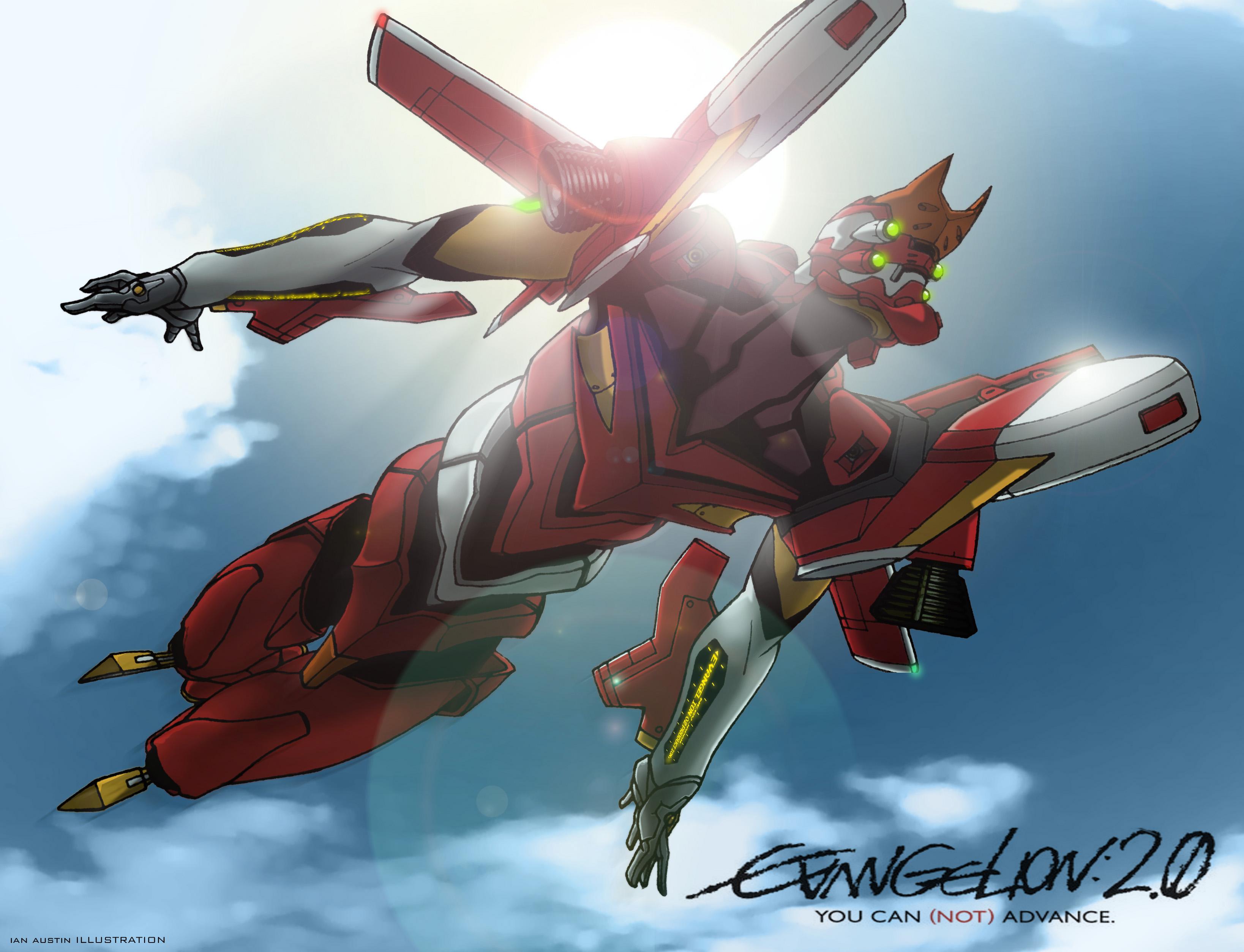 Neon Genesis Evangelion EVA Unit 02