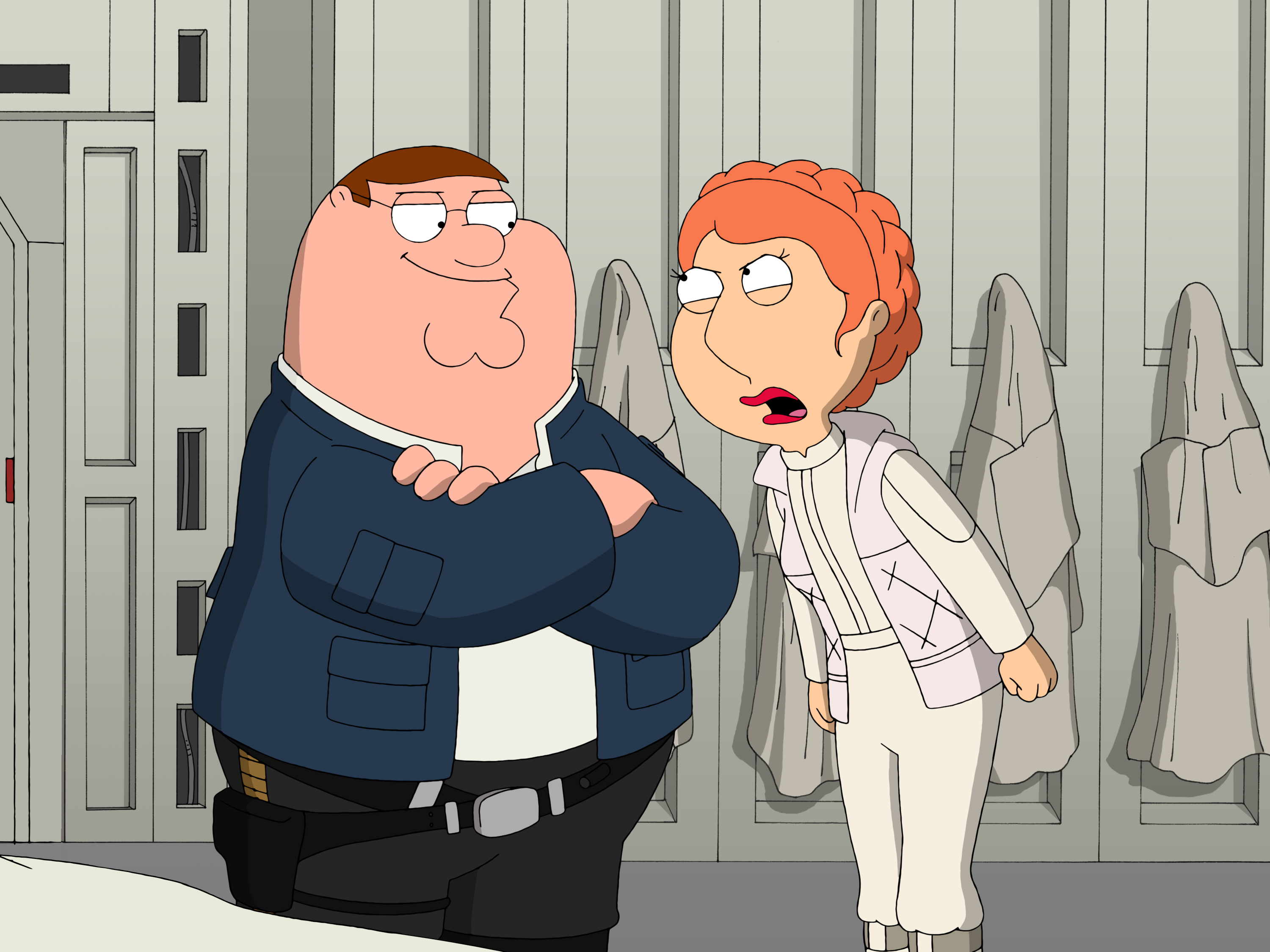 Family Guy Peter Griffin Lois Griffin Free Wallpaper