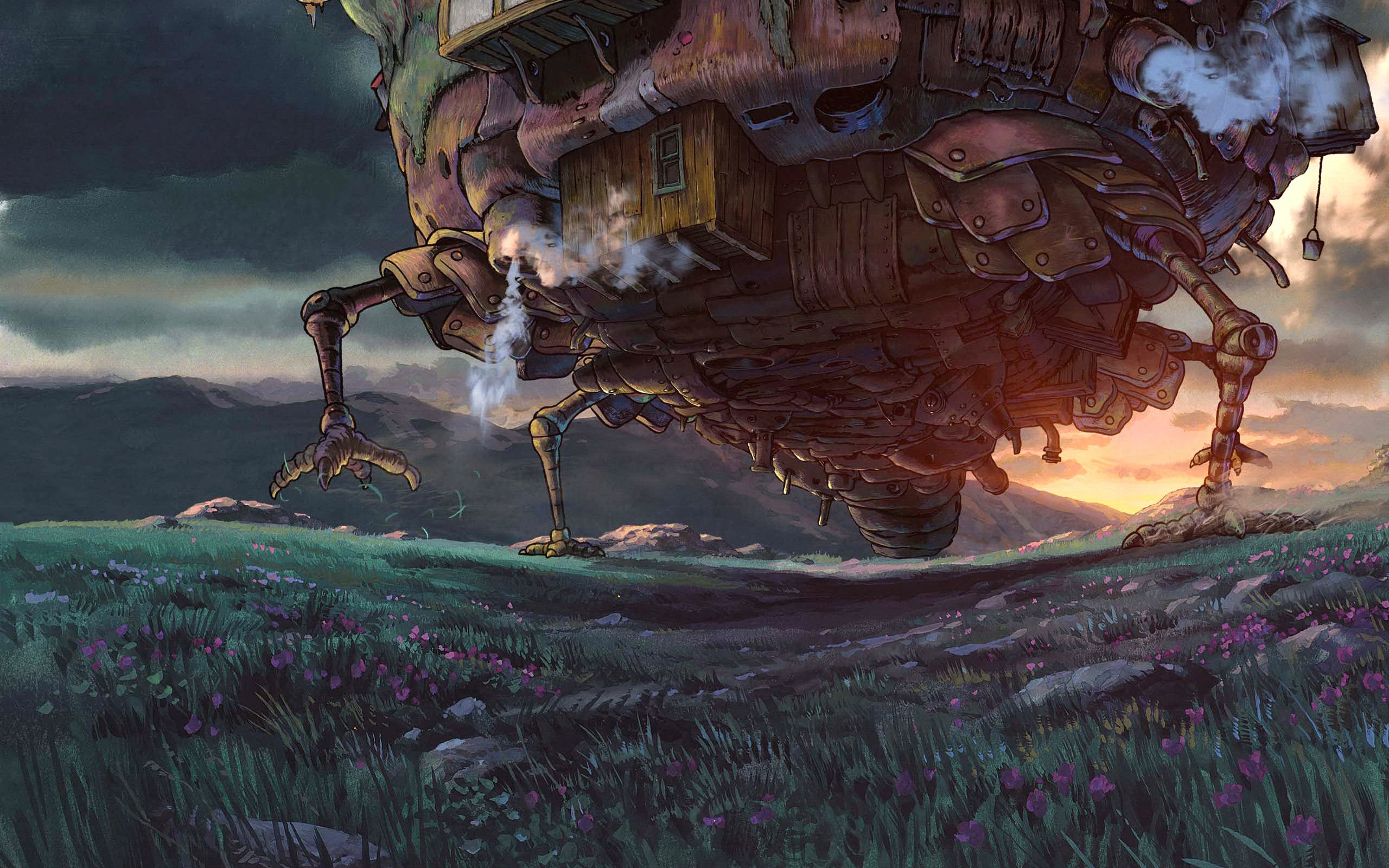 Artwork studio ghibli anime howls moving castle hauru free artwork studio ghibli anime howls moving castle hauru free wallpaper wallpaperjam voltagebd