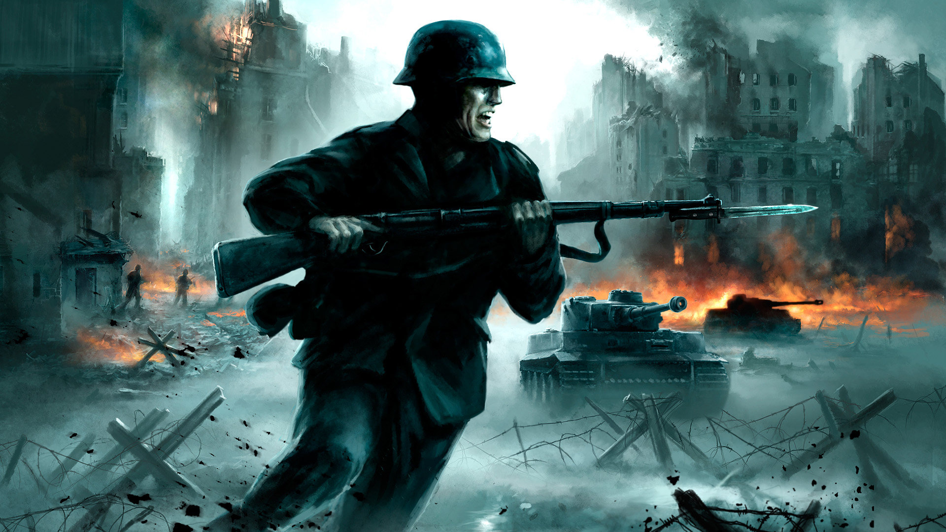 Soldiers guns fire smoke weapons tanks world war ii panzer soldiers guns fire smoke weapons tanks world war ii panzer free wallpaper wallpaperjam altavistaventures Image collections