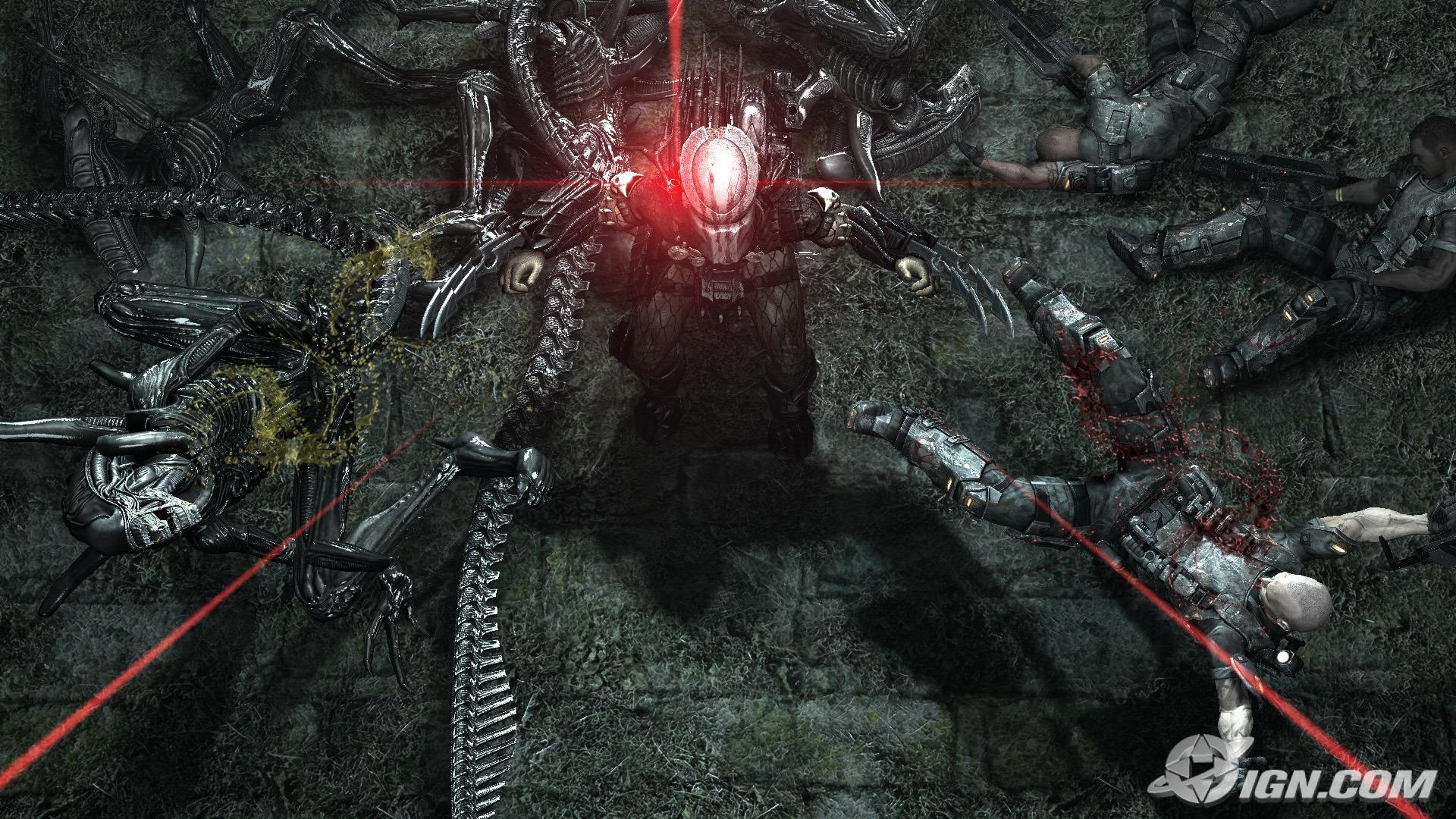 Alien Vs Predator Free Wallpaper Wallpaperjam Com