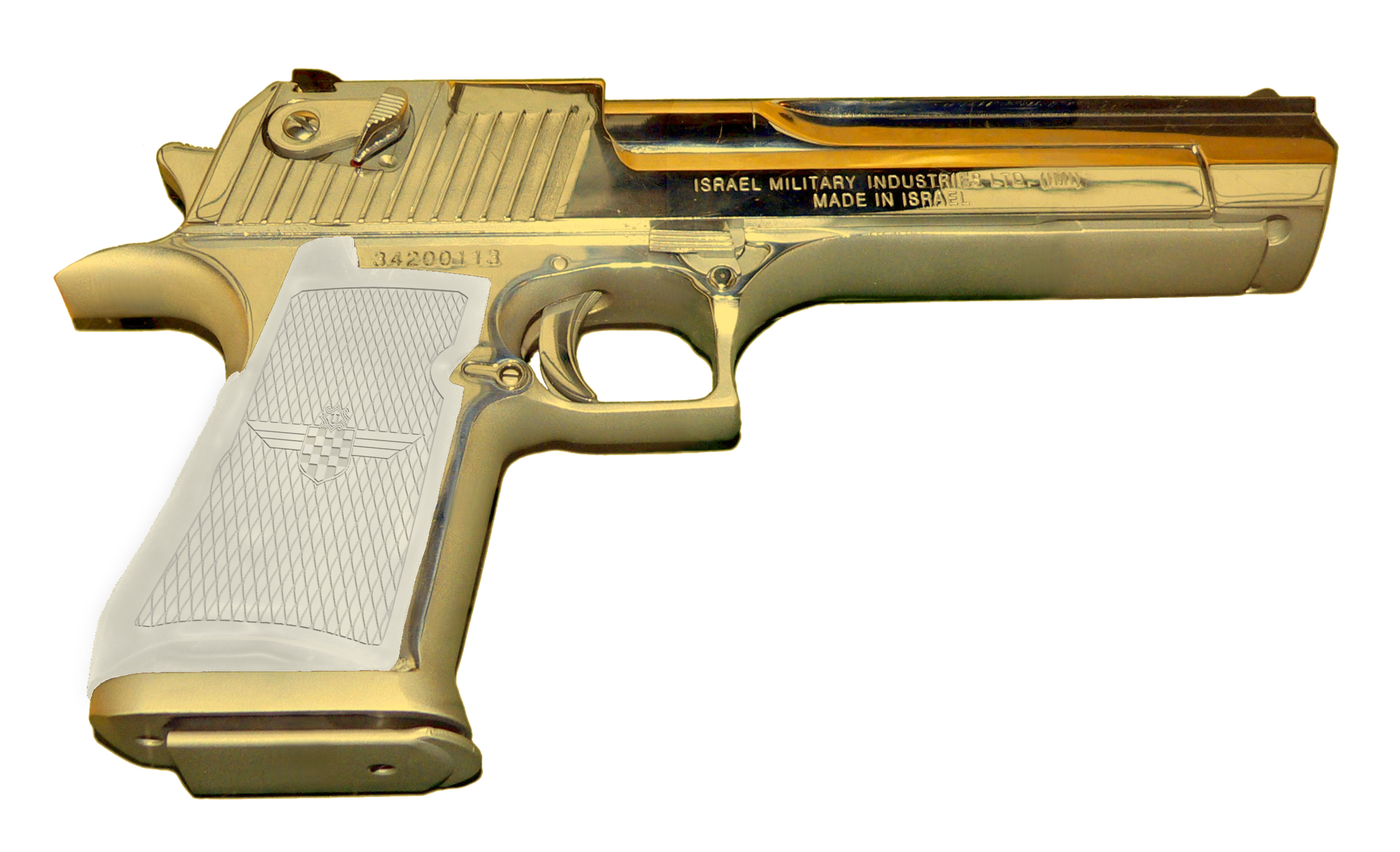 Guns Gold Weapons Handguns