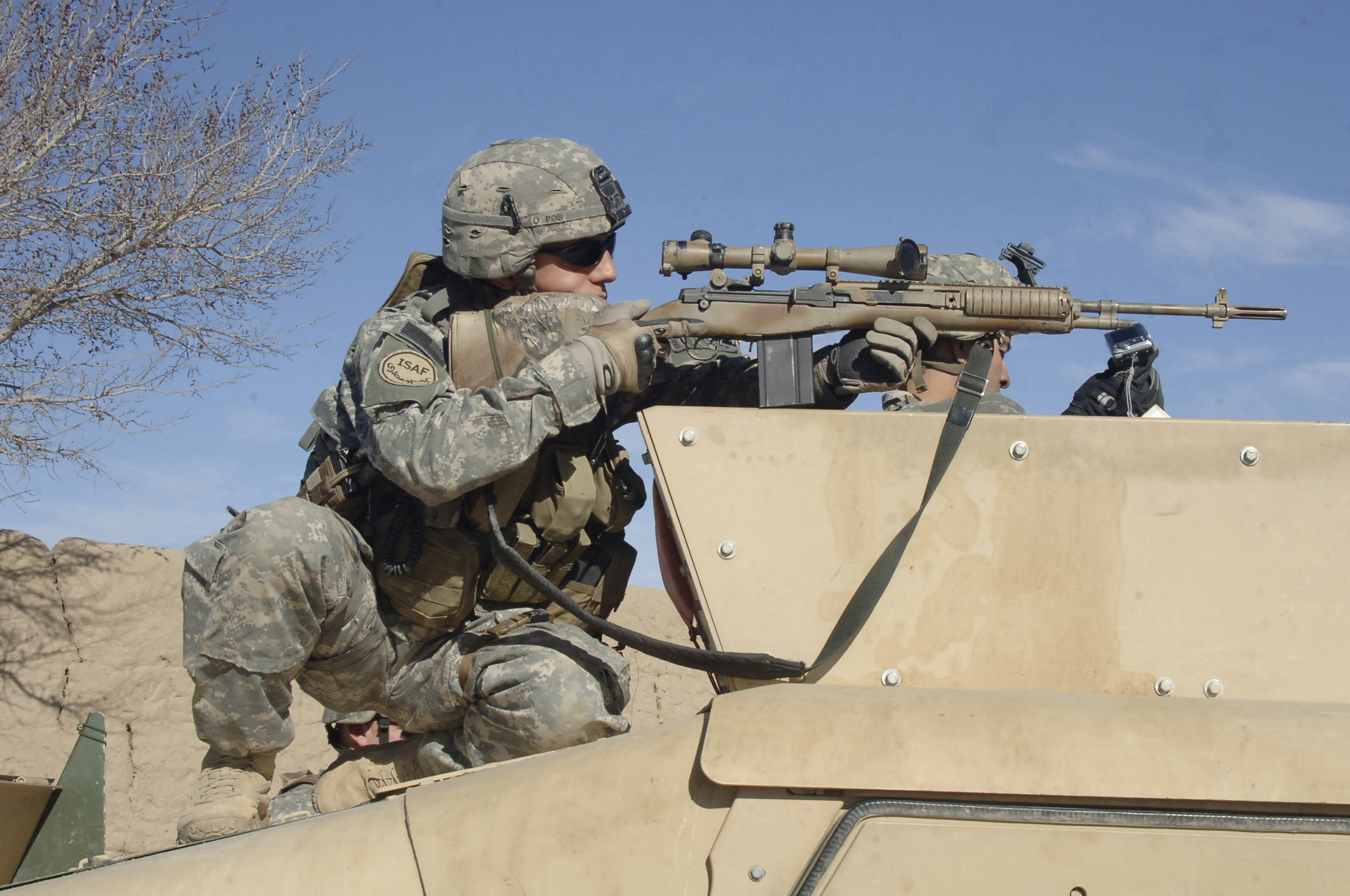soldiers, military, men, snipers, US Army, Springfield, Humvee, HMMWV -  Free Wallpaper / WallpaperJam.com