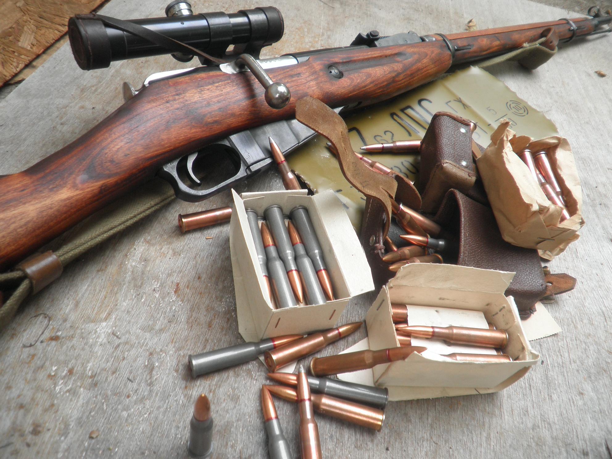 Rifles Soviet Snipers Weapons Sniper Bolt Mosin Nagant