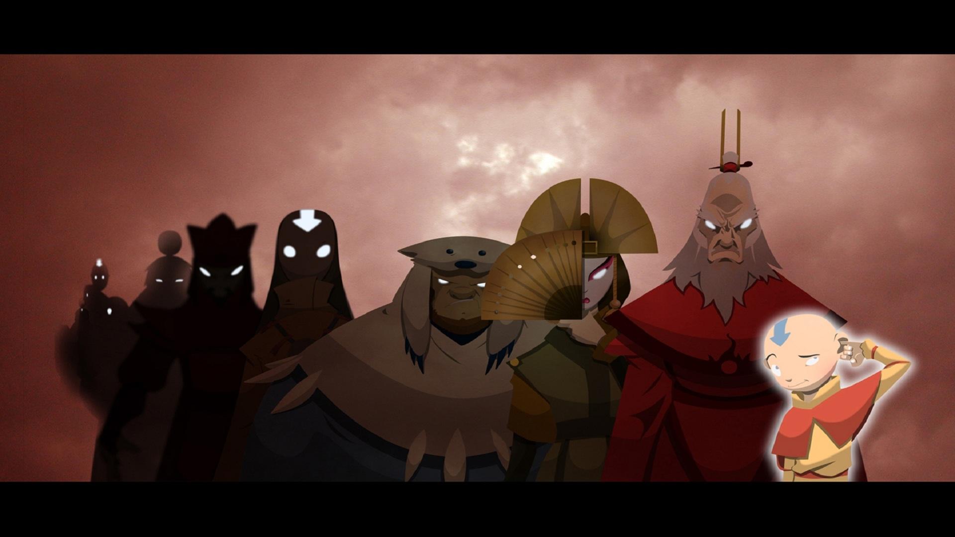 Avatar The Last Airbender Aang Free Wallpaper Wallpaperjam Com