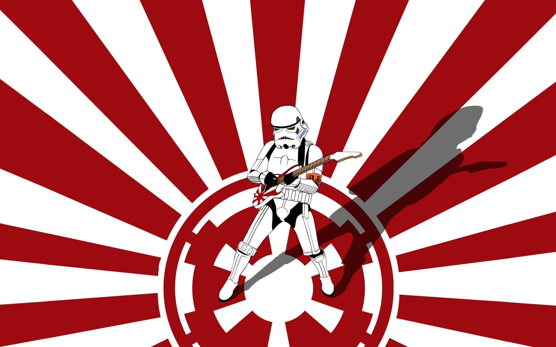 Star Wars Stormtroopers Guitars Galactic Empire Free Wallpaper Wallpaperjam Com