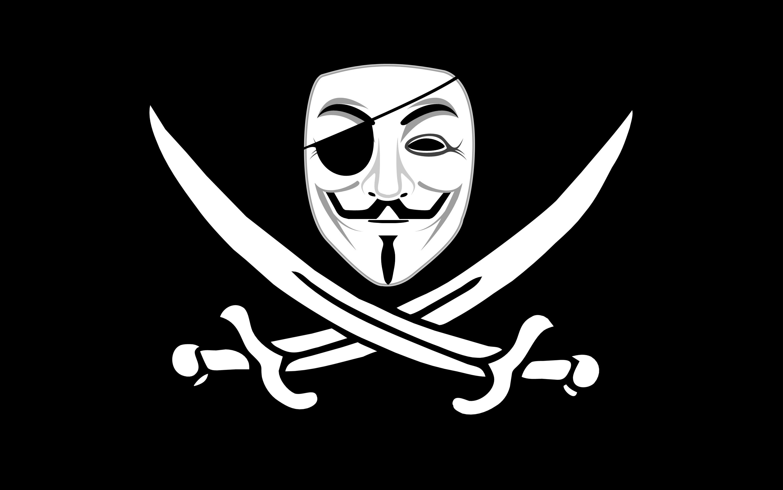 pirates V for Vendetta Jolly Roger Free Wallpaper WallpaperJam