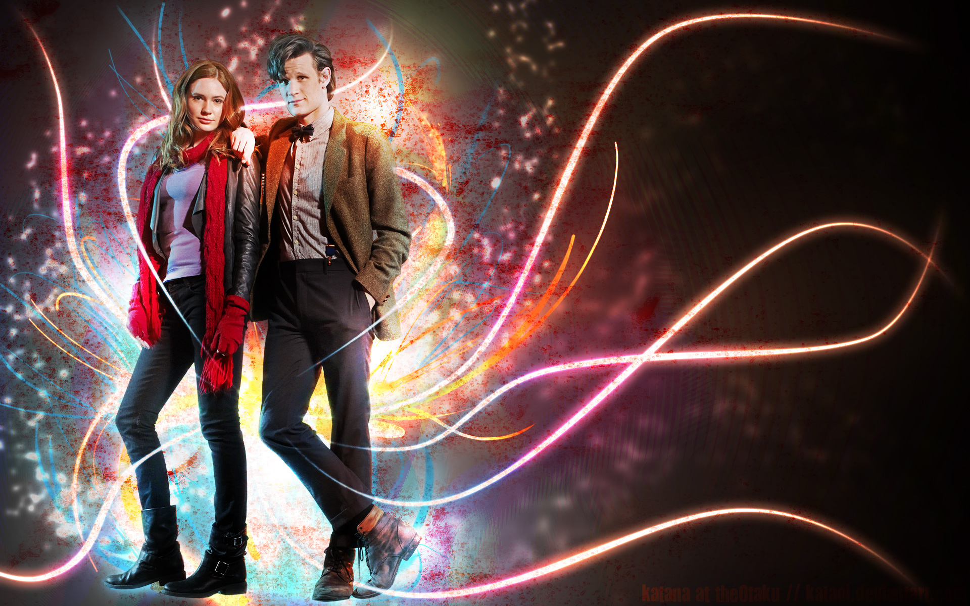 Matt Smith Eleventh Doctor Doctor Who Free Wallpaper