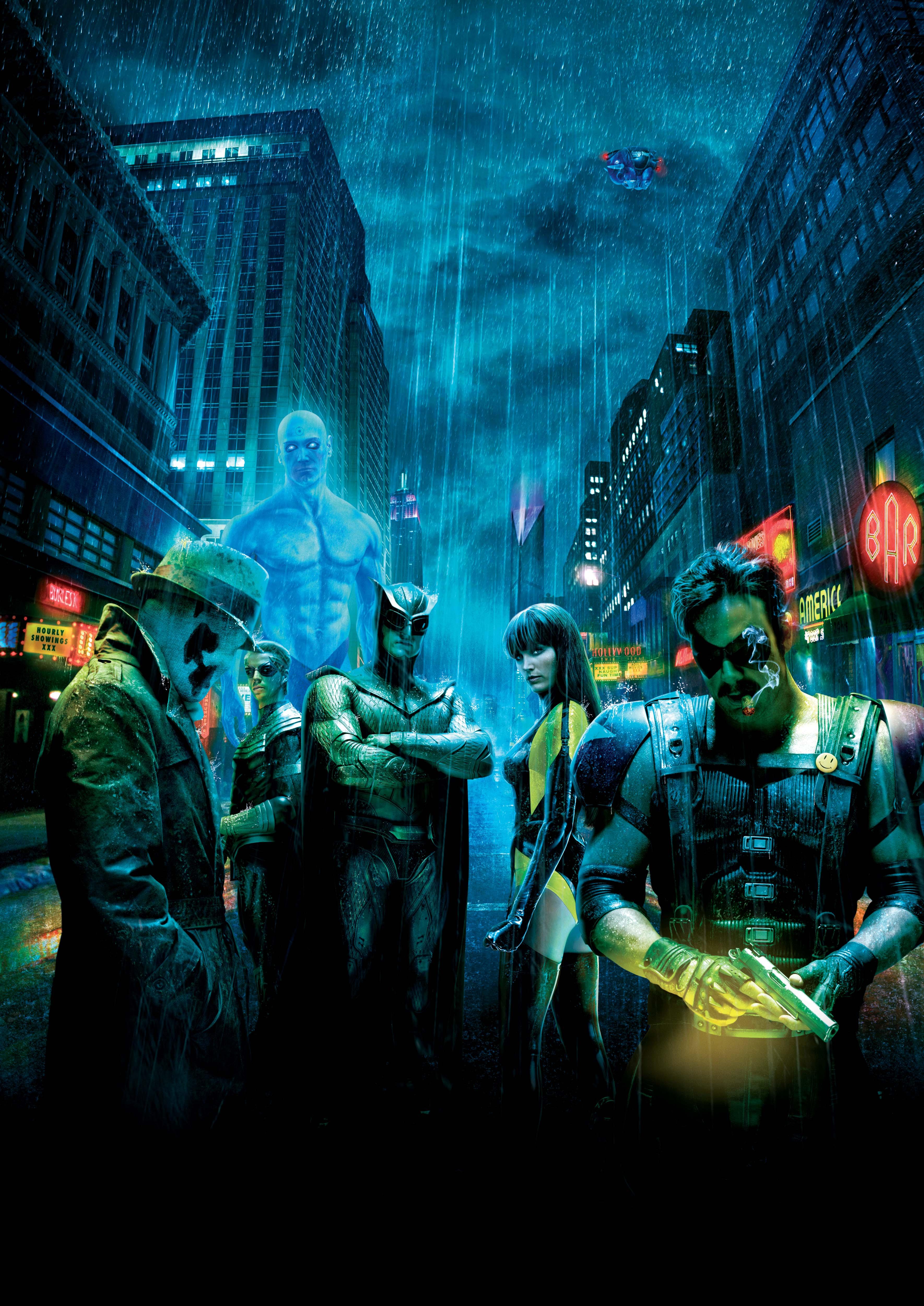 Watchmen, Rorschach, Silk Spectre, The