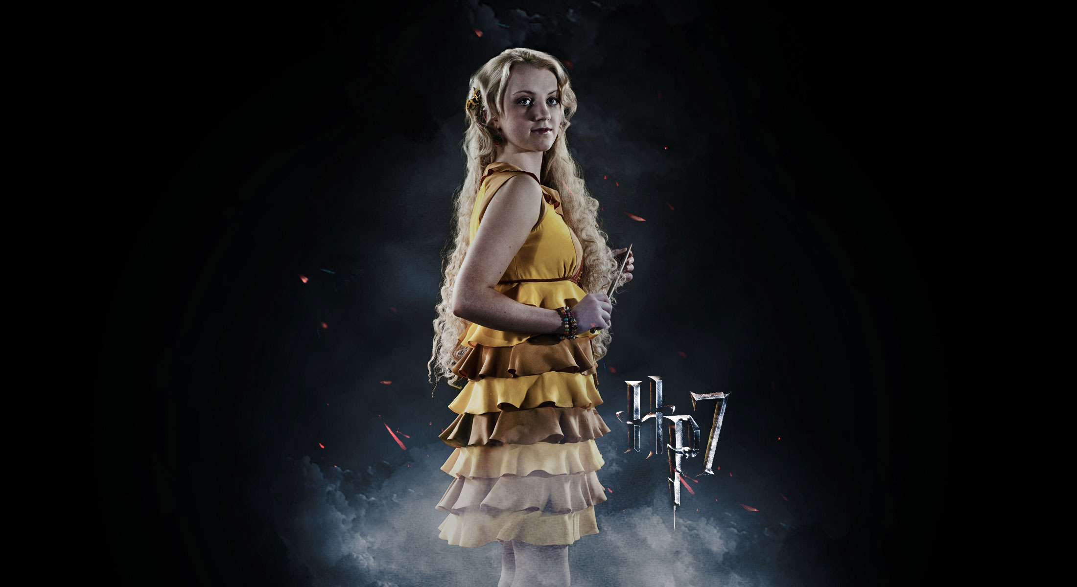 Harry Potter Harry Potter And The Deathly Hallows Luna Lovegood