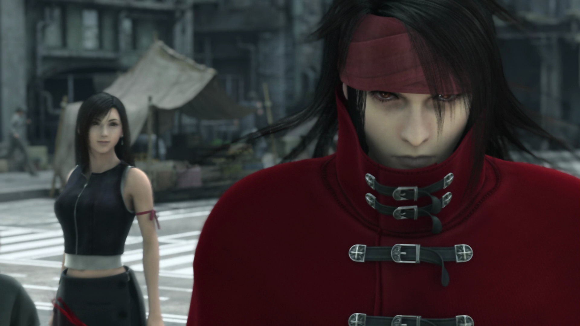 final fantasy vii advent children, vincent, tifa lockheart - free