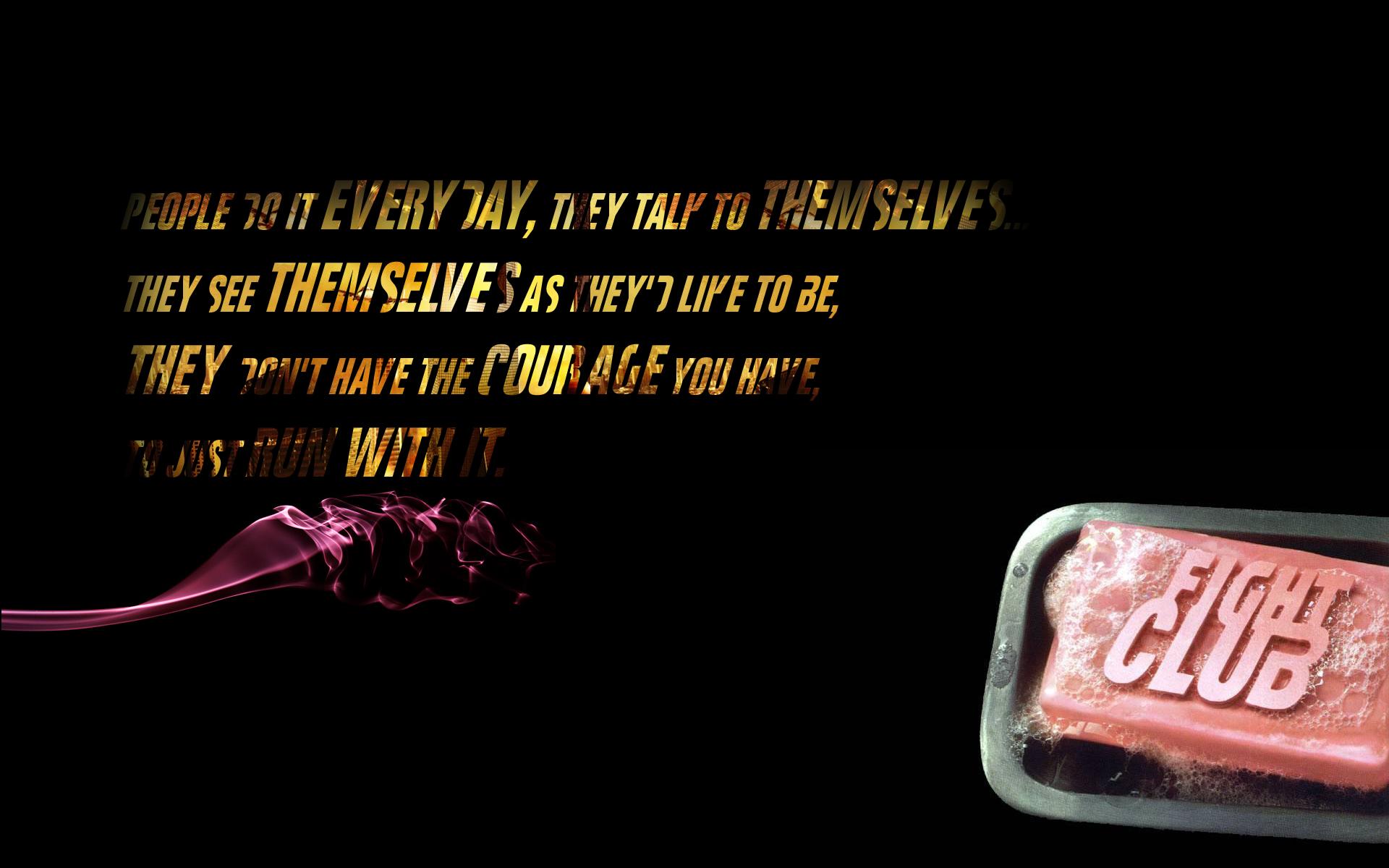 Quotes Fight Club Soap Tyler Durden