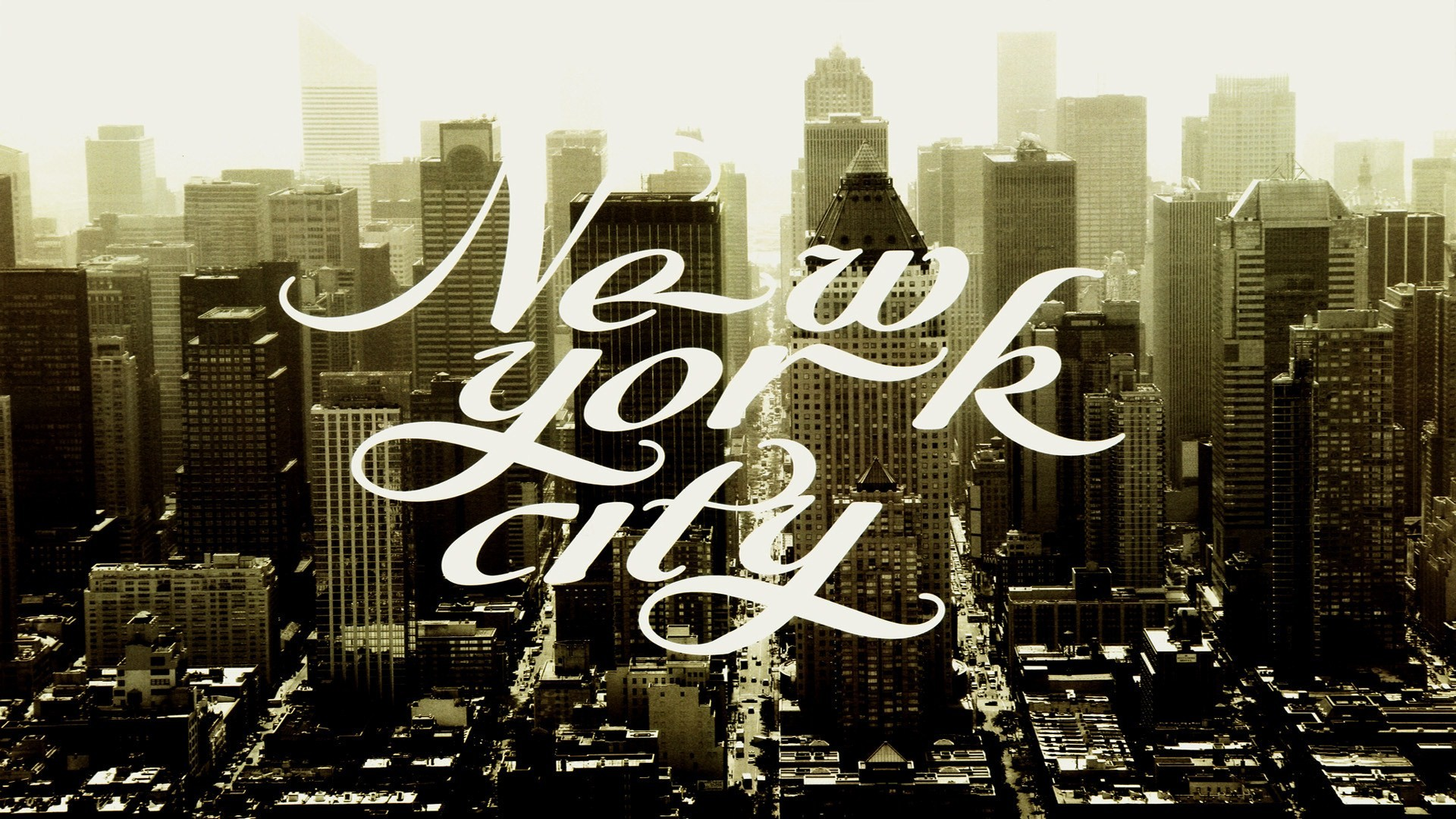 cityscapes, retro, new york city, towns - free wallpaper