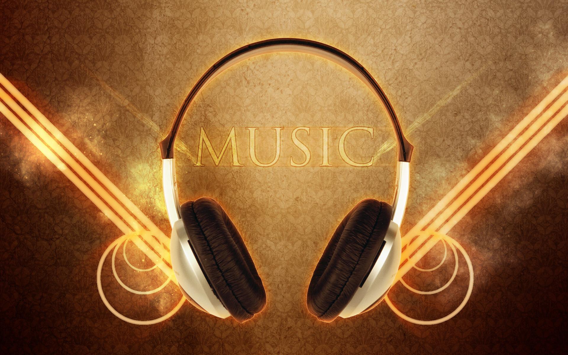 Headphones Music Free Wallpaper Wallpaperjam Com