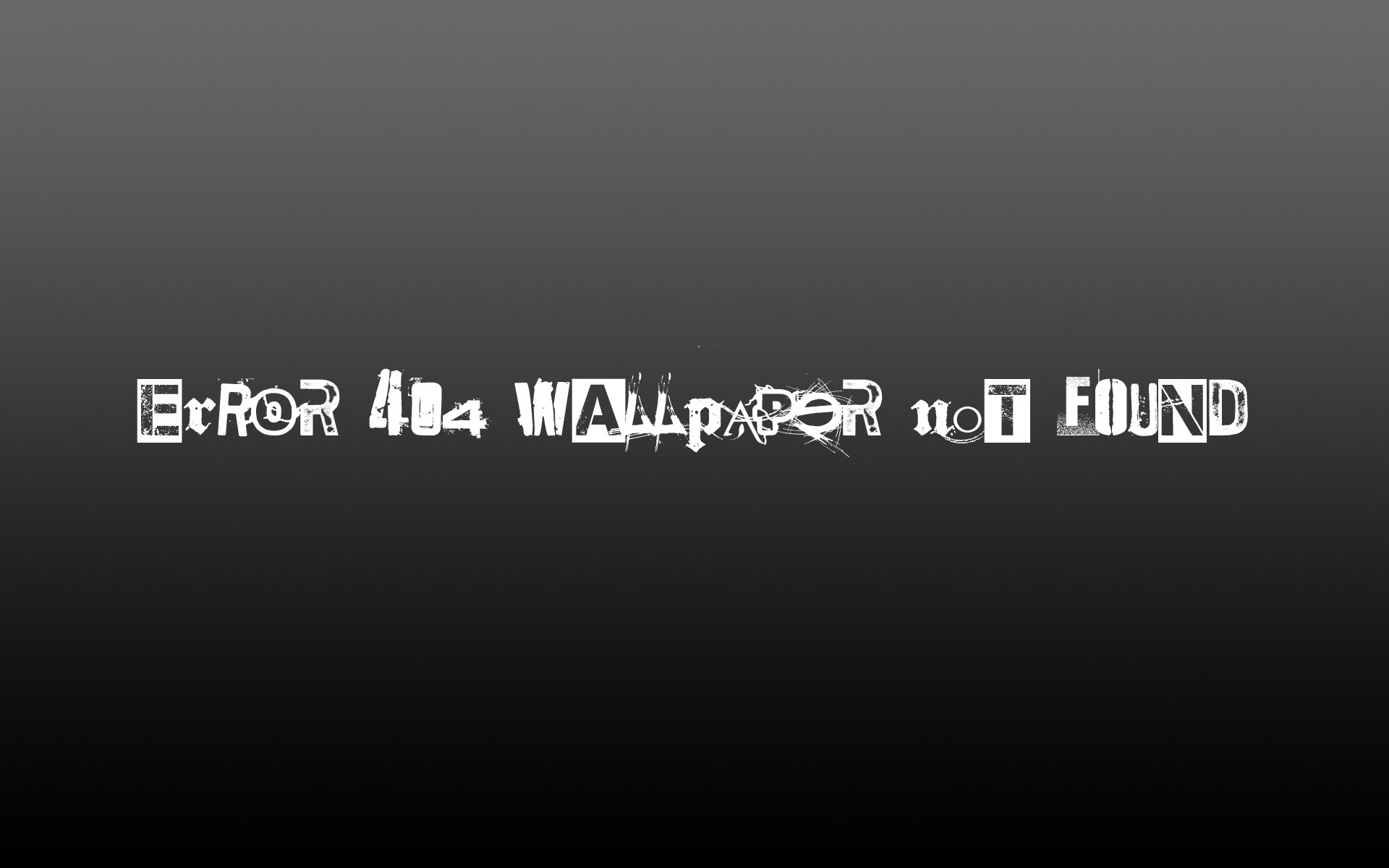error typography 404 photo manipulation free wallpaper