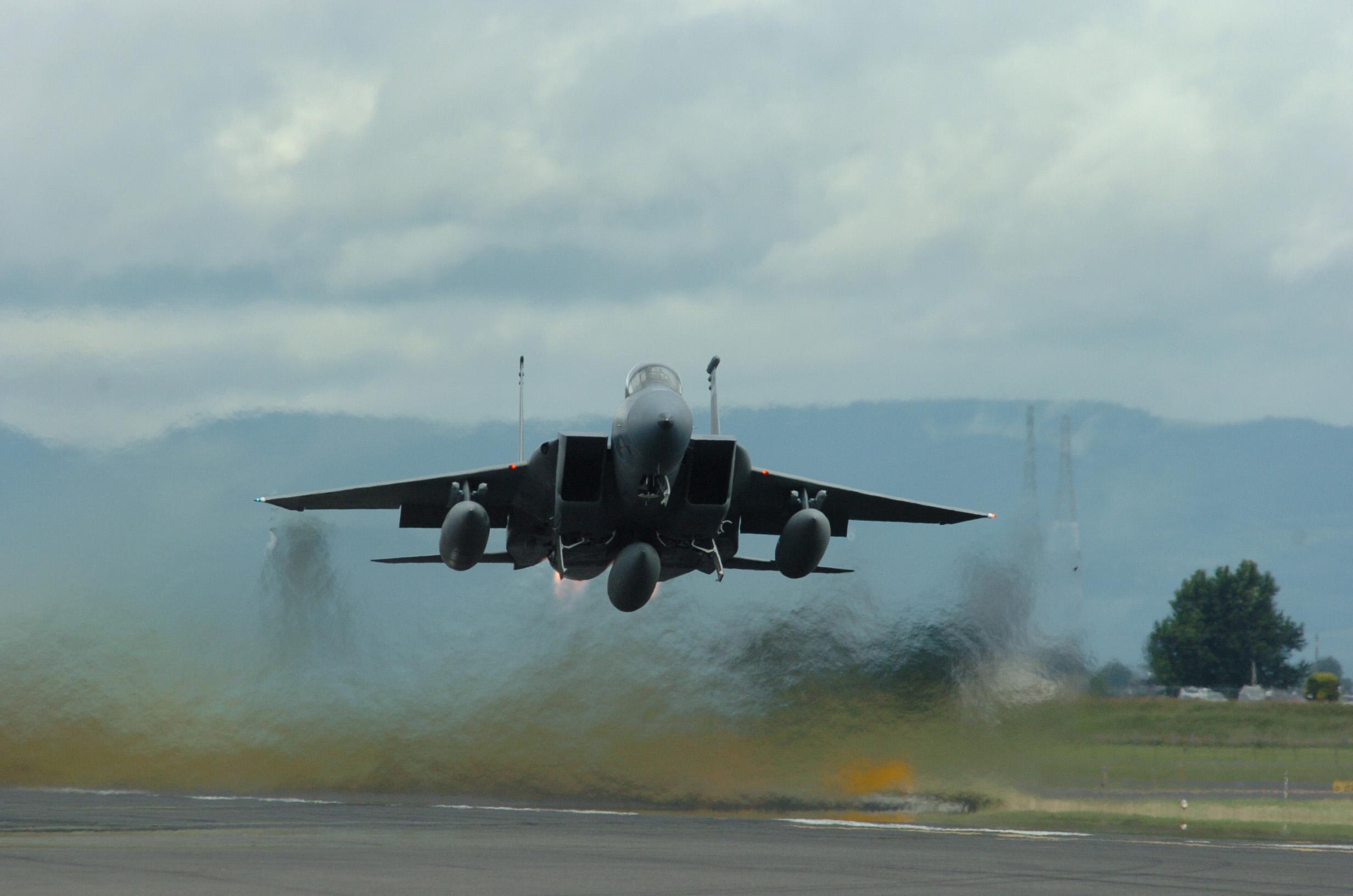 aircraft, military, vehicles, f-15 eagle, jet aircraft - free