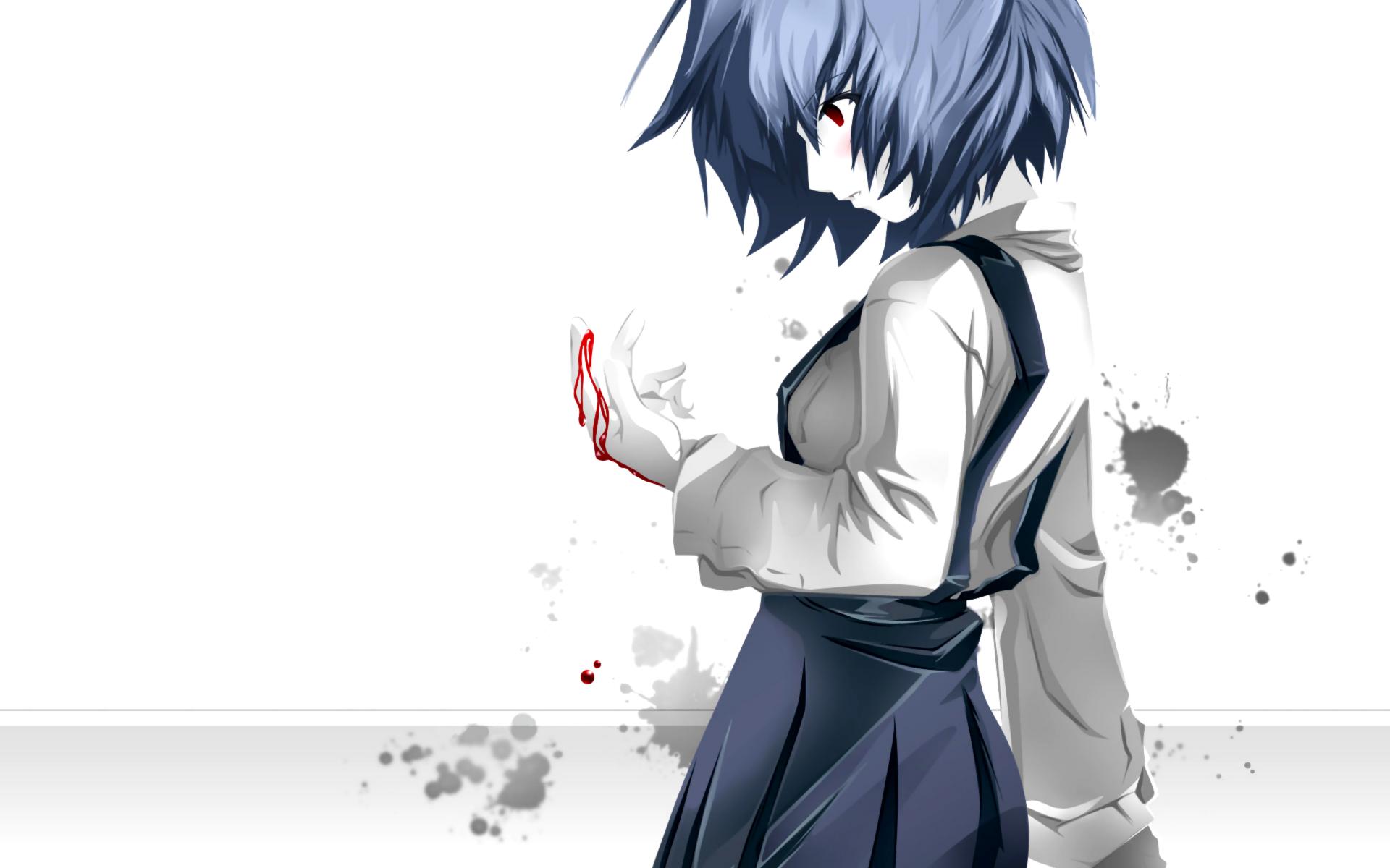 School Uniforms Ayanami Rei Neon Genesis Evangelion