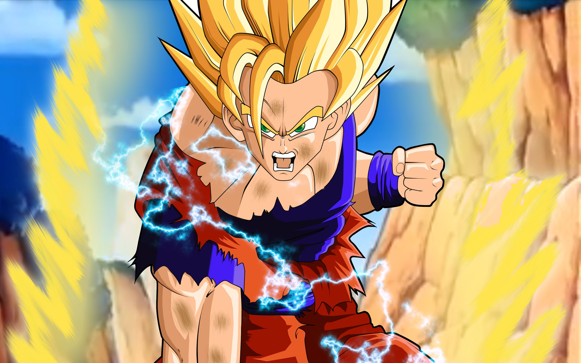 Son Goku Anime Dragon Ball Z Dragon Ball Free Wallpaper