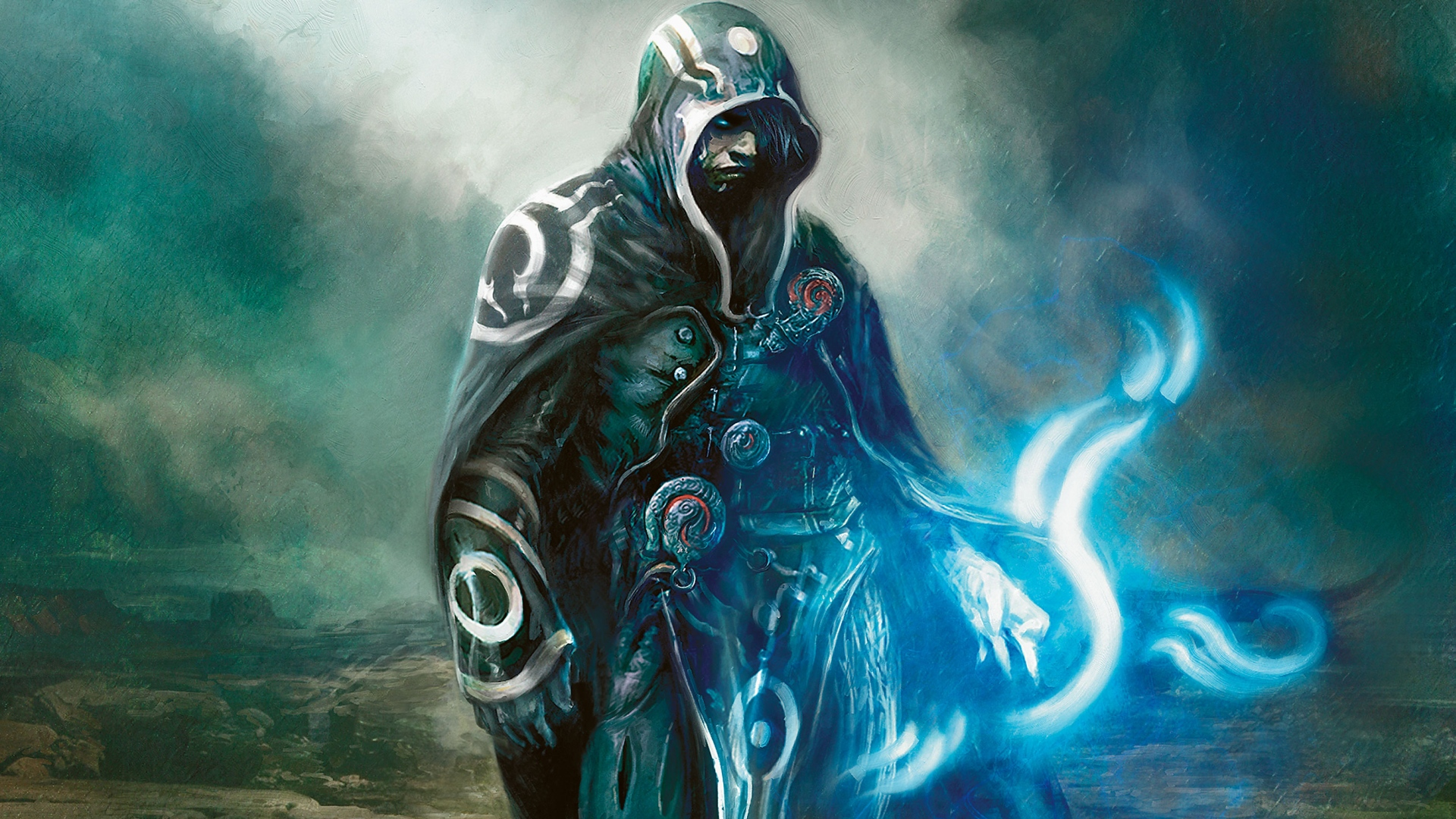 Magic The Gathering Fantasy Art Artwork Jace Beleren Mtg