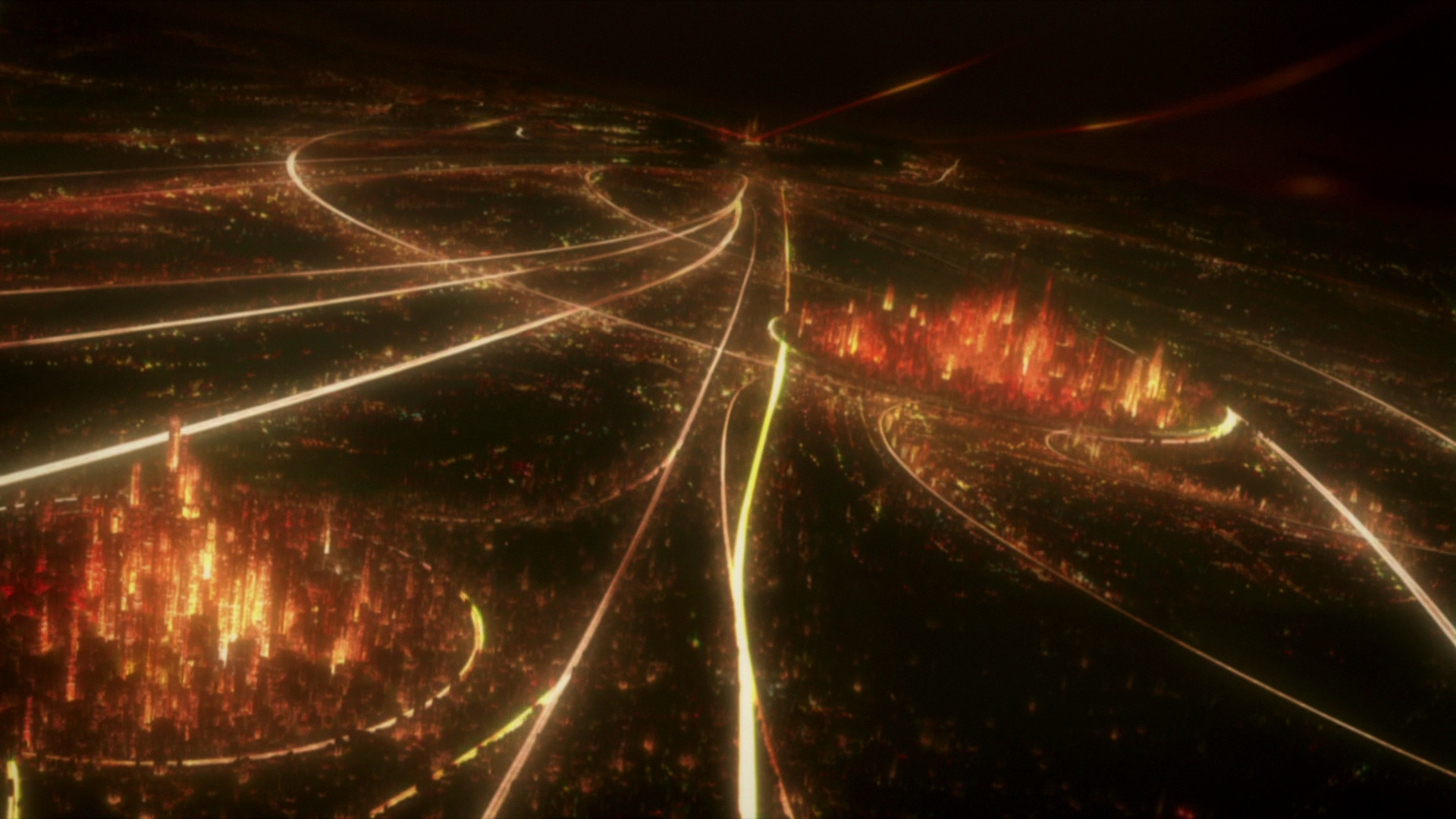 Cityscapes Cgi Science Fiction Ghost In The Shell Free