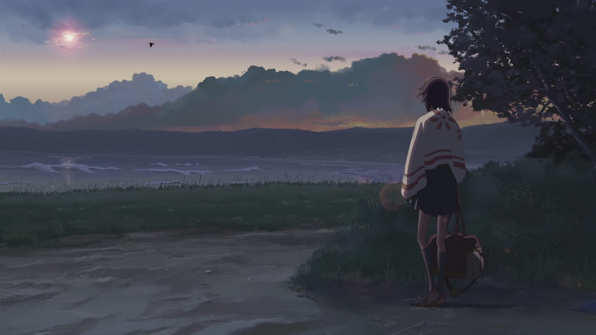 Makoto Shinkai Scenic 5 Centimeters Per Second Artwork Free