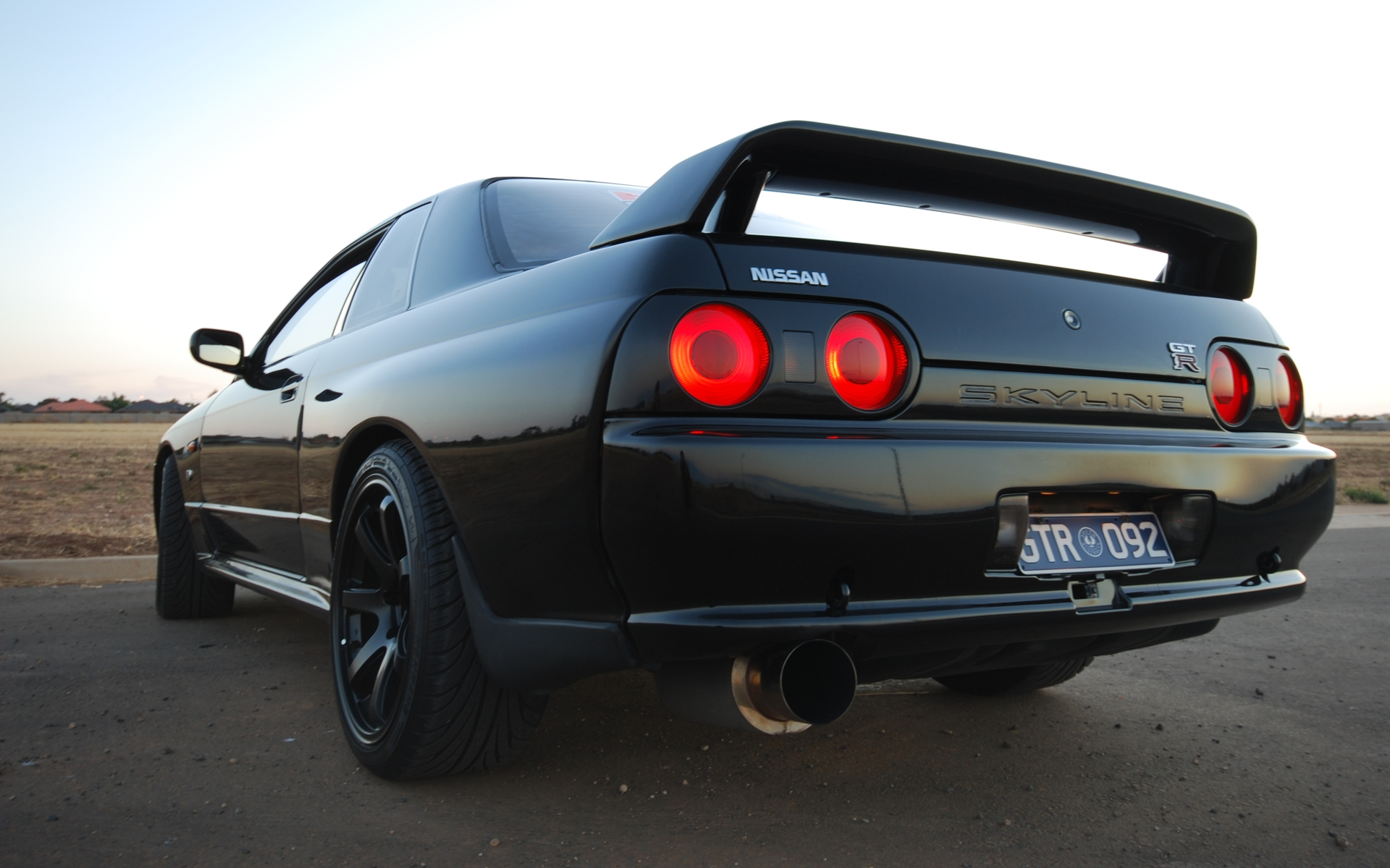 Cars Nissan Skyline R32 GT R Tailight